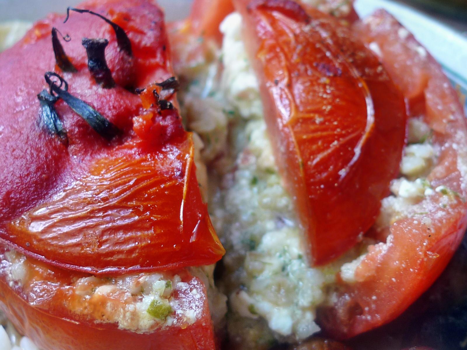 Gefüllte Tomaten,Gurkengemüse,Champignon,Zucchini,Reis-24.7.14   (16)