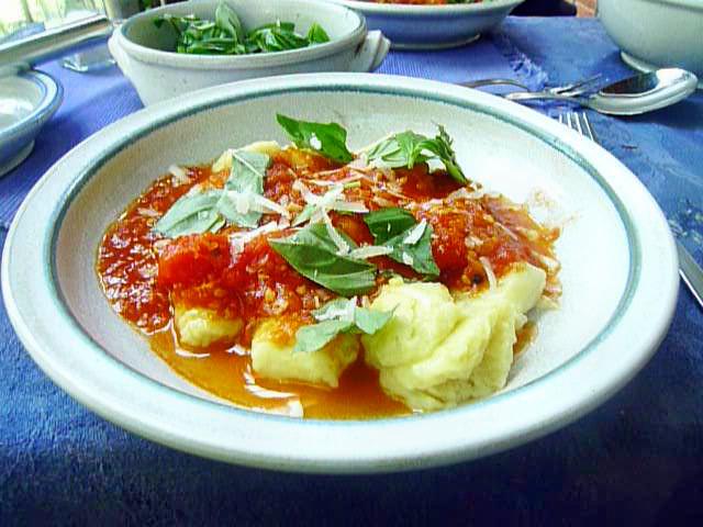 Gnocchi mit Tomatensoße-31.8.14   (26)