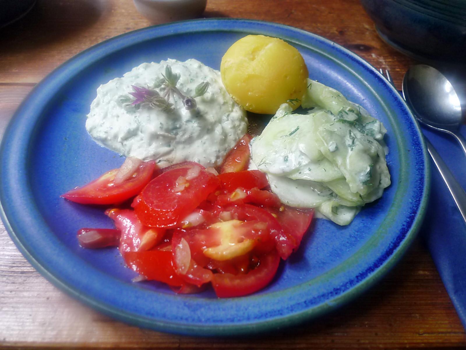Quark,Kartoffel,Salate-17.8.14   (1)