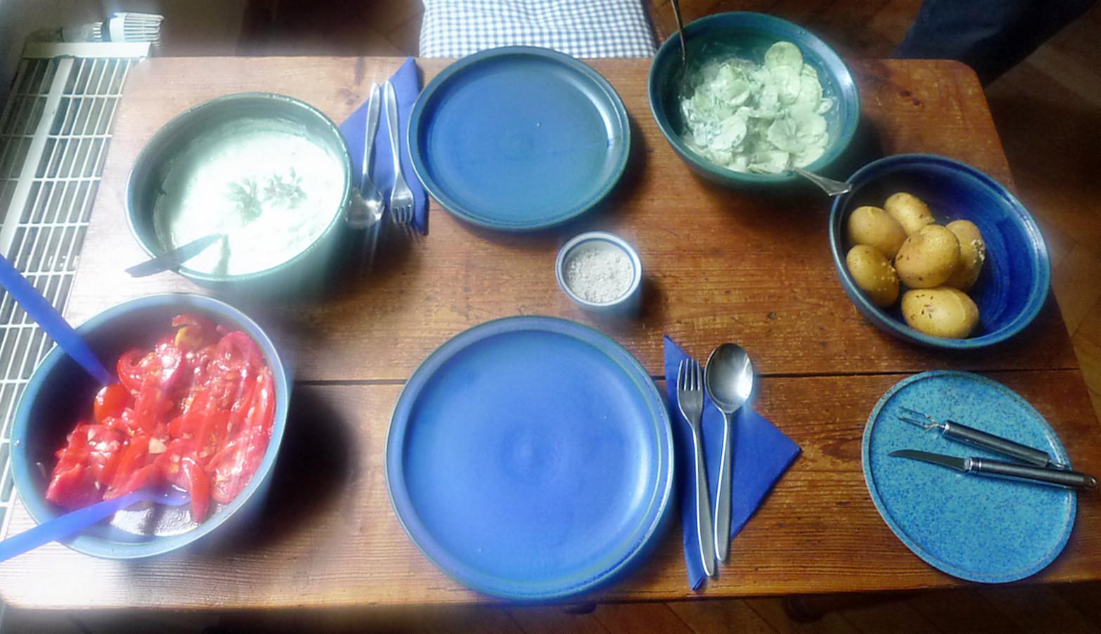 Quark,Kartoffel,Salate-17.8.14   (4)