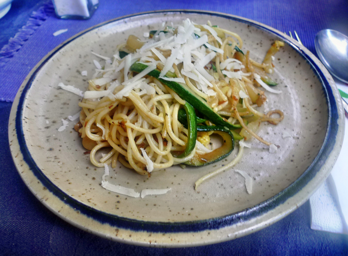 Spaghetti-Zucchinipfanne-27.8.14   (10)