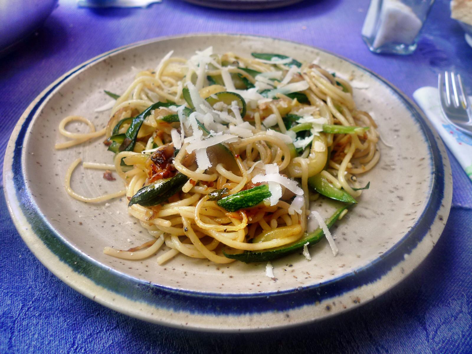 Spaghetti-Zucchinipfanne-27.8.14   (12)