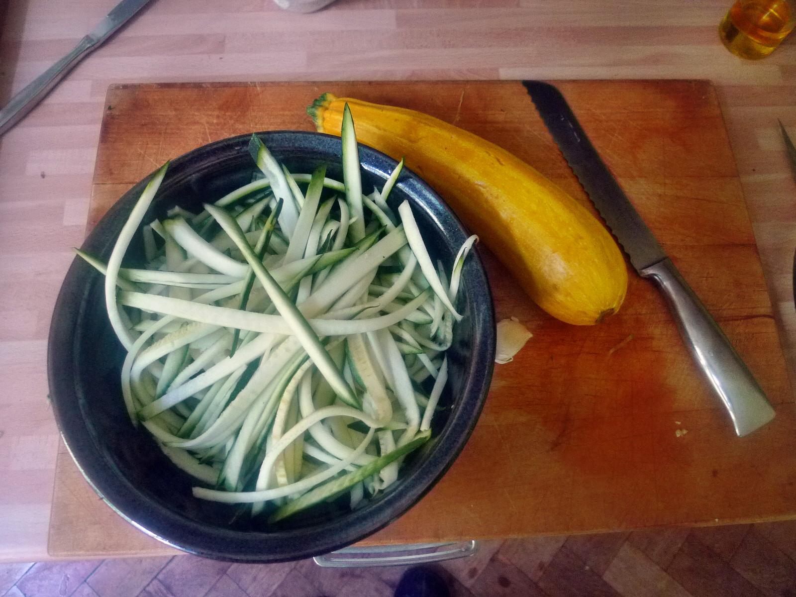 Spaghetti-Zucchinipfanne-27.8.14   (4)