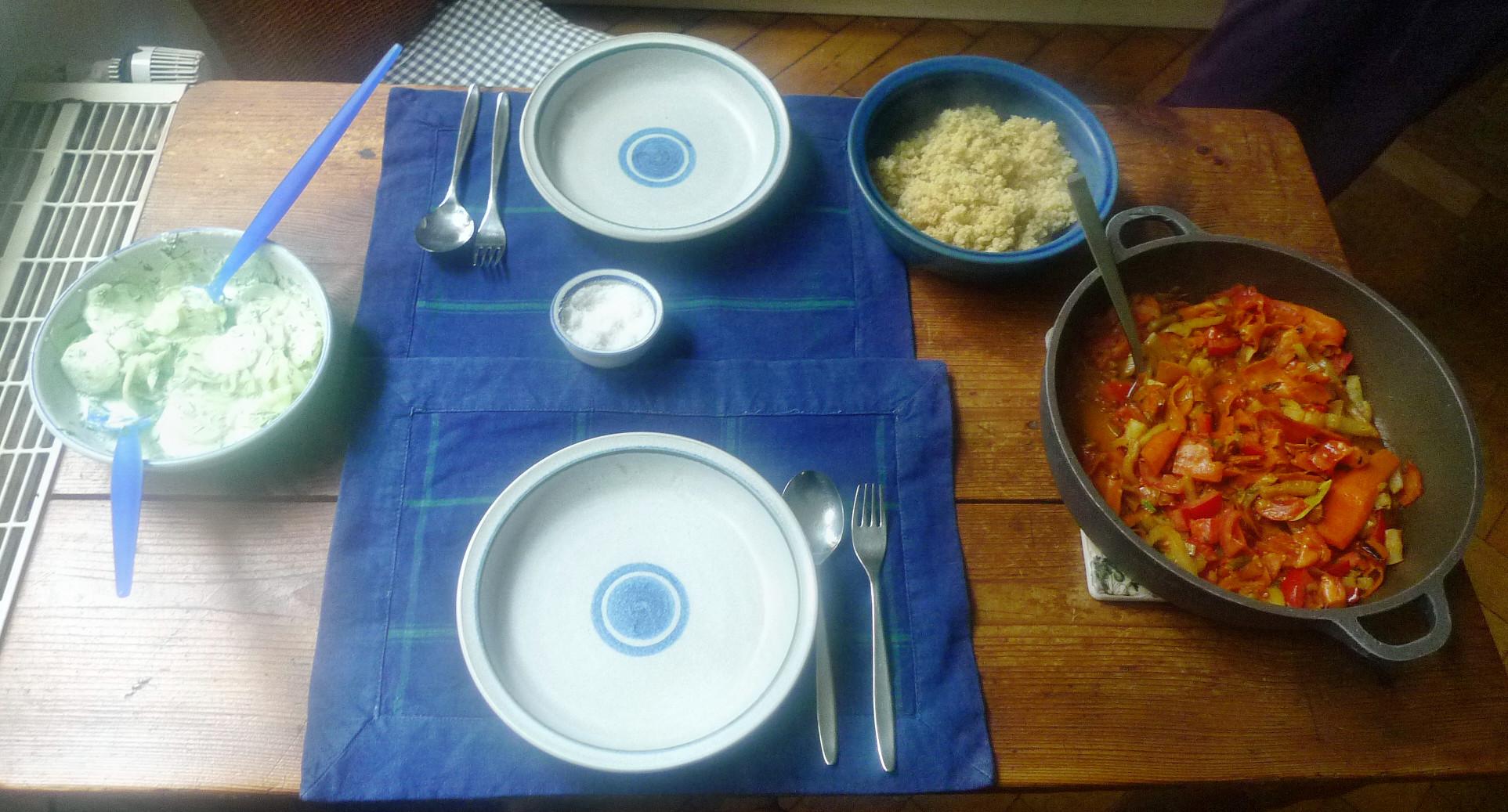 Fenchel,Möhrengemüse,Quinoa,Gurkensalat-15.9.14   (10)