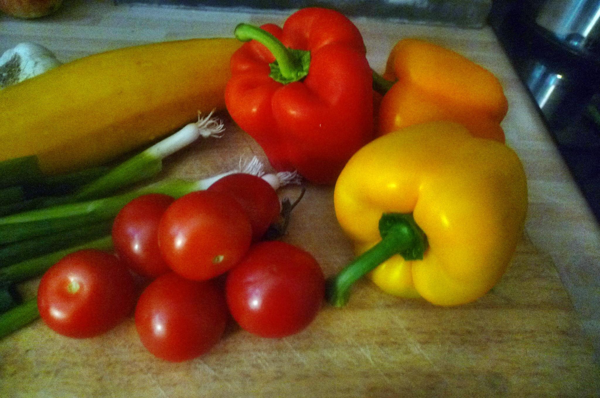 Gemüse-Nudelpfanne - 16.9.14   (2)
