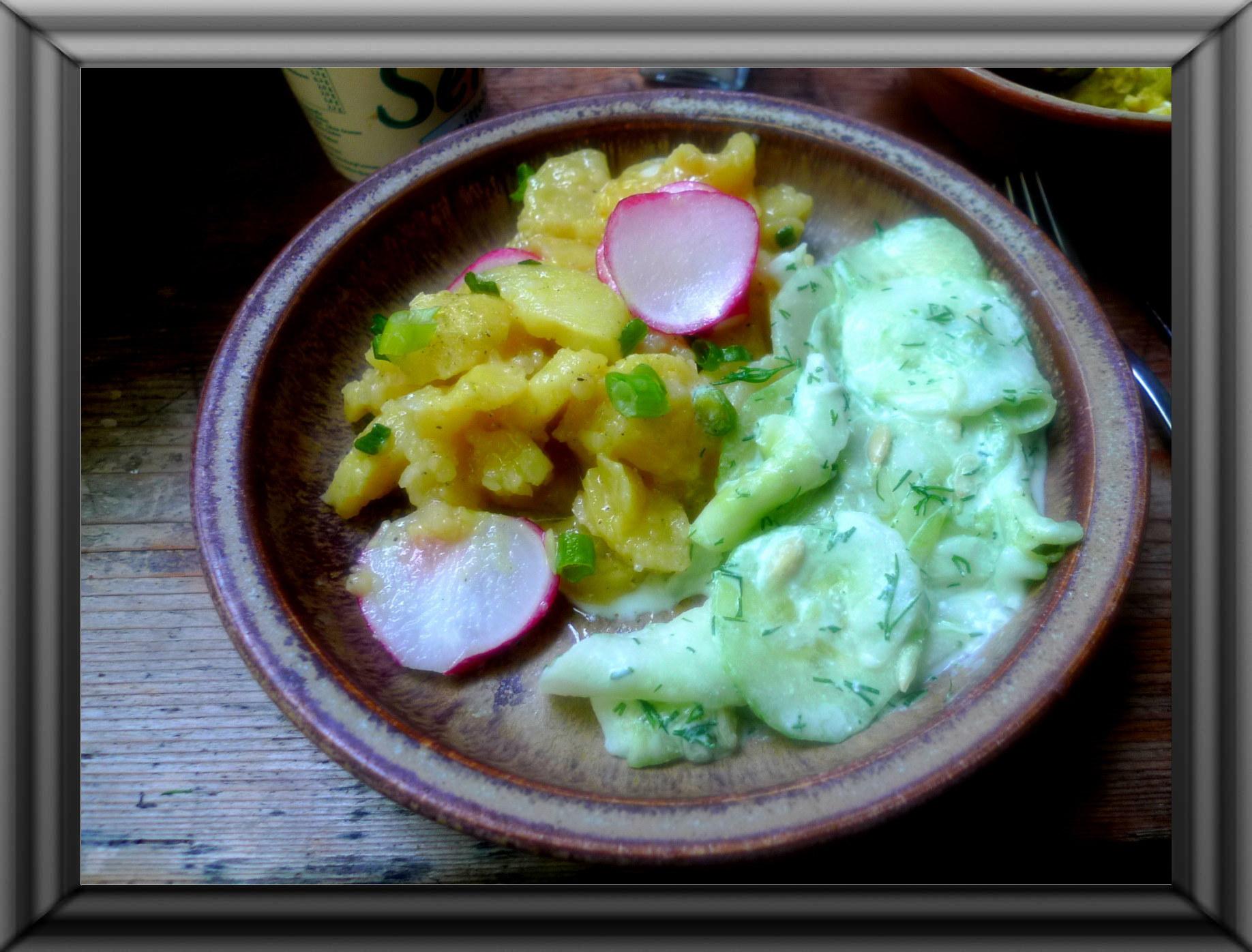 Kartoffelsaöat-Gurkensalat-5.9.14   (1)