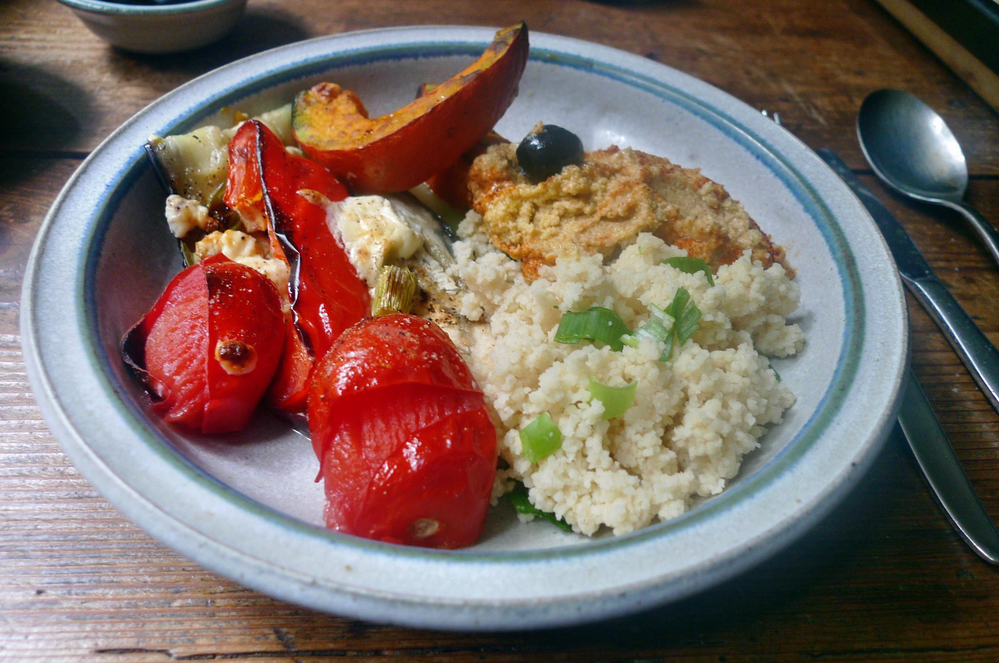 Ofengemüse-Couscous-Humus - 25.9.14   (19)