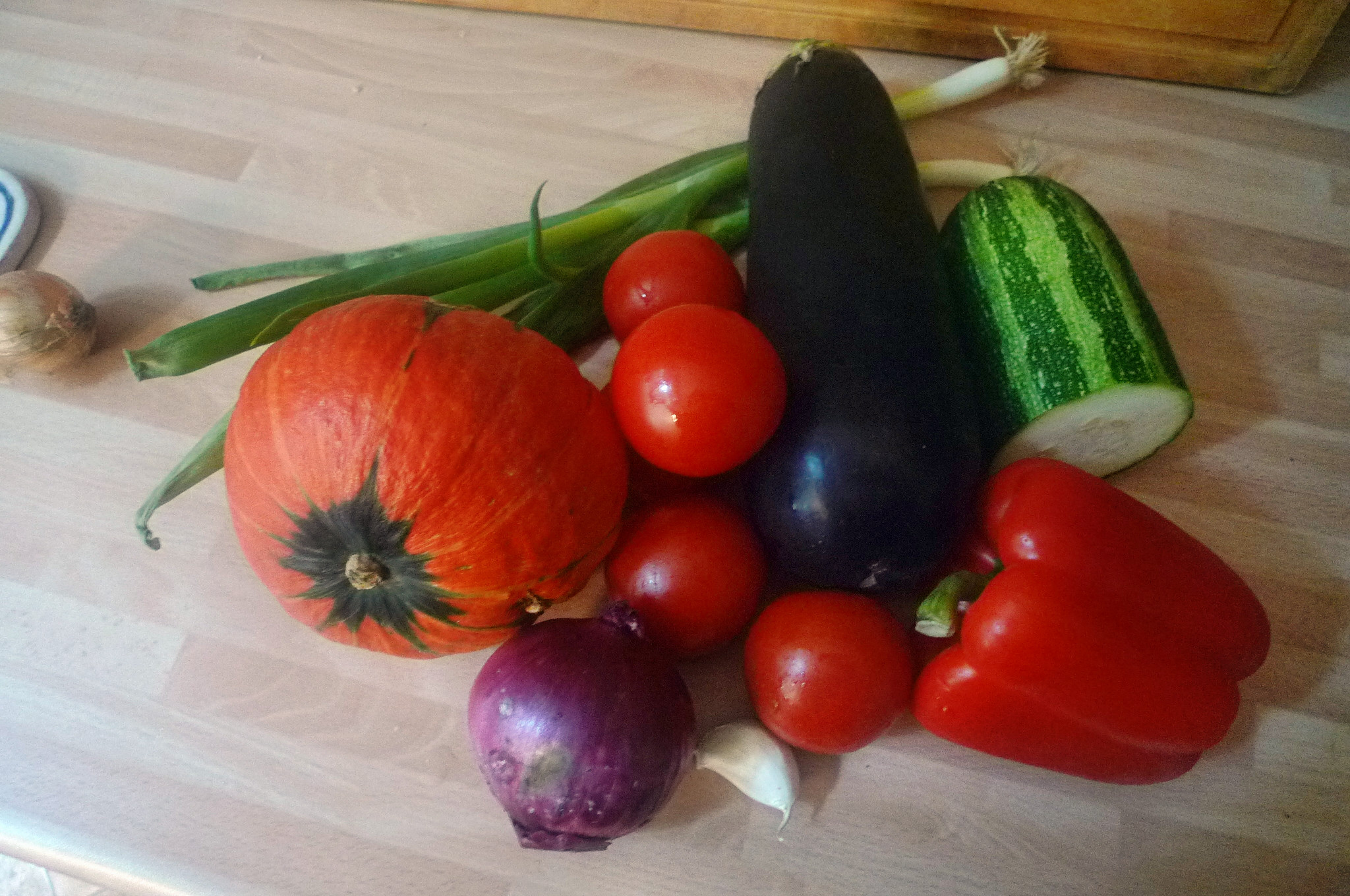 Ofengemüse-Couscous-Humus - 25.9.14   (2)