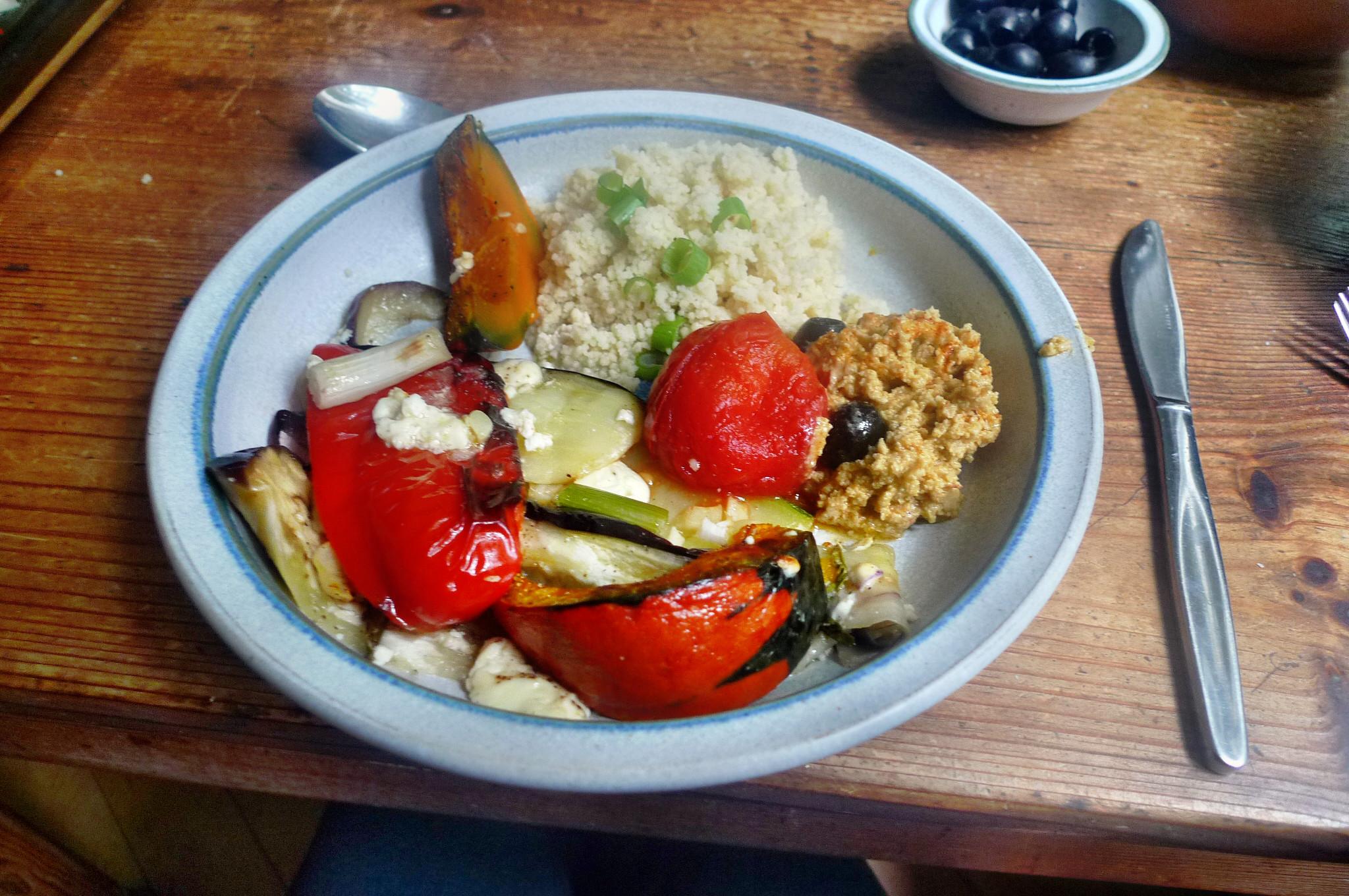 Ofengemüse-Couscous-Humus - 25.9.14   (20)