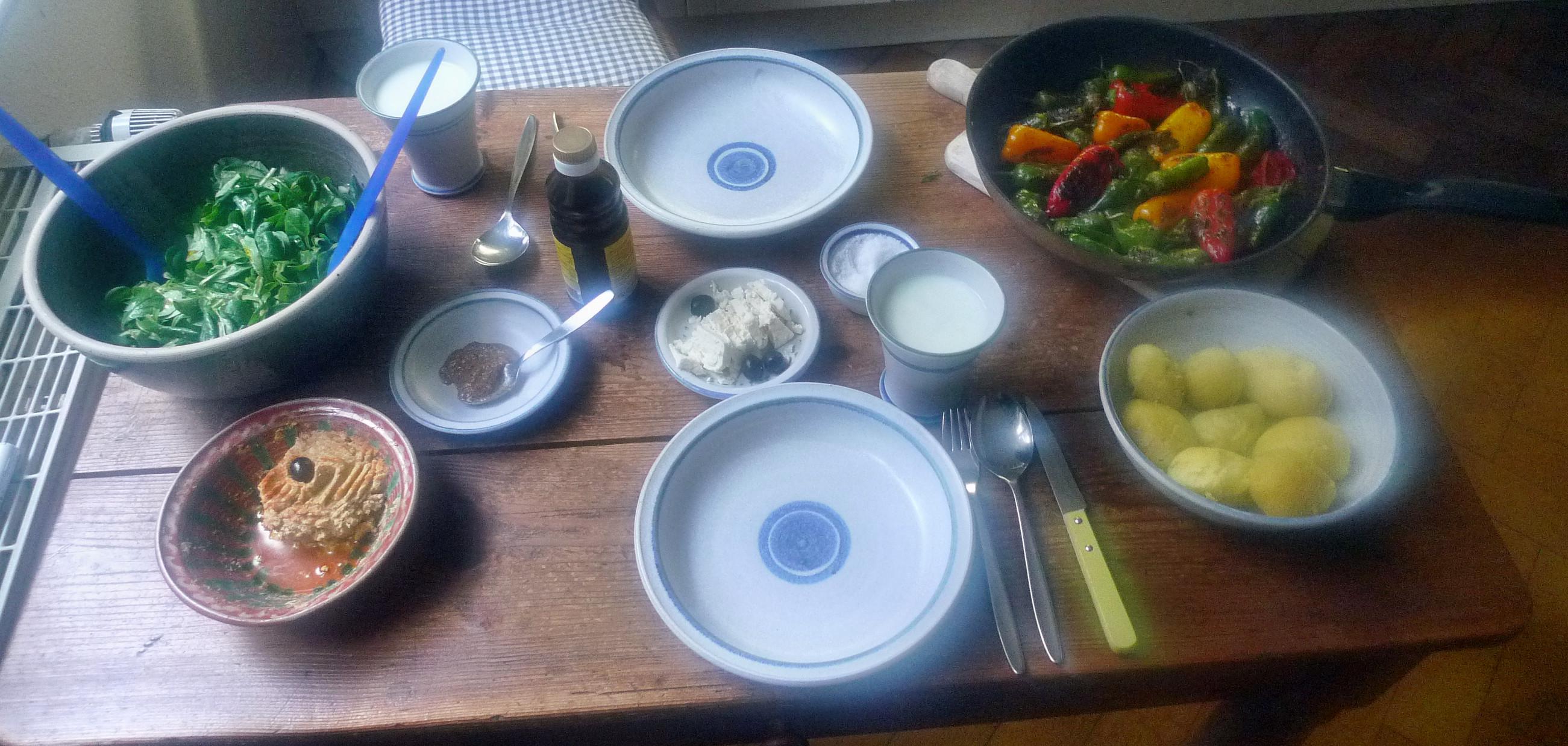 Pimentos-Paprika-Kartoffel-Salat-Buttermilch- 28.9.14   (10)