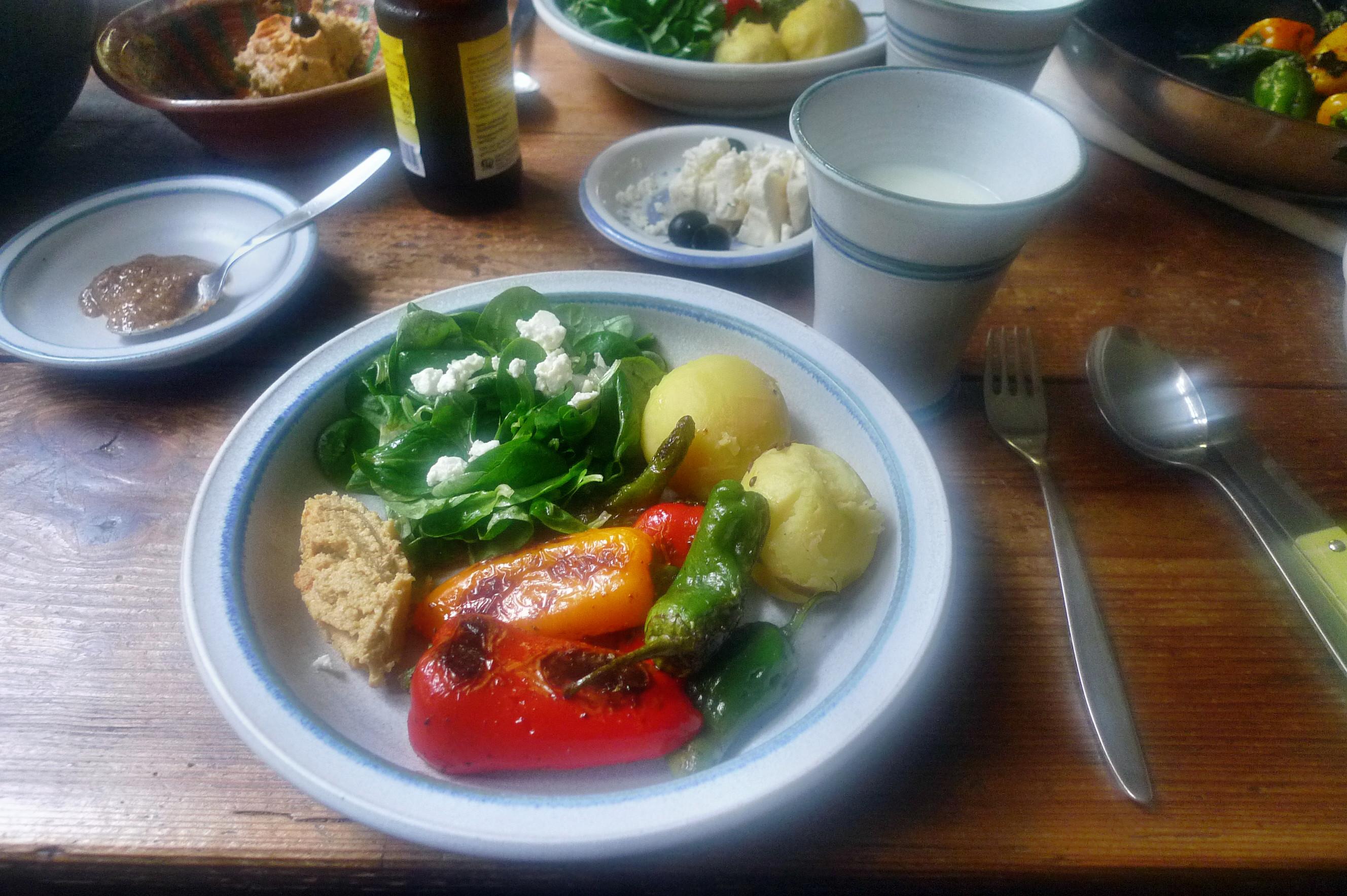 Pimentos-Paprika-Kartoffel-Salat-Buttermilch- 28.9.14   (11)