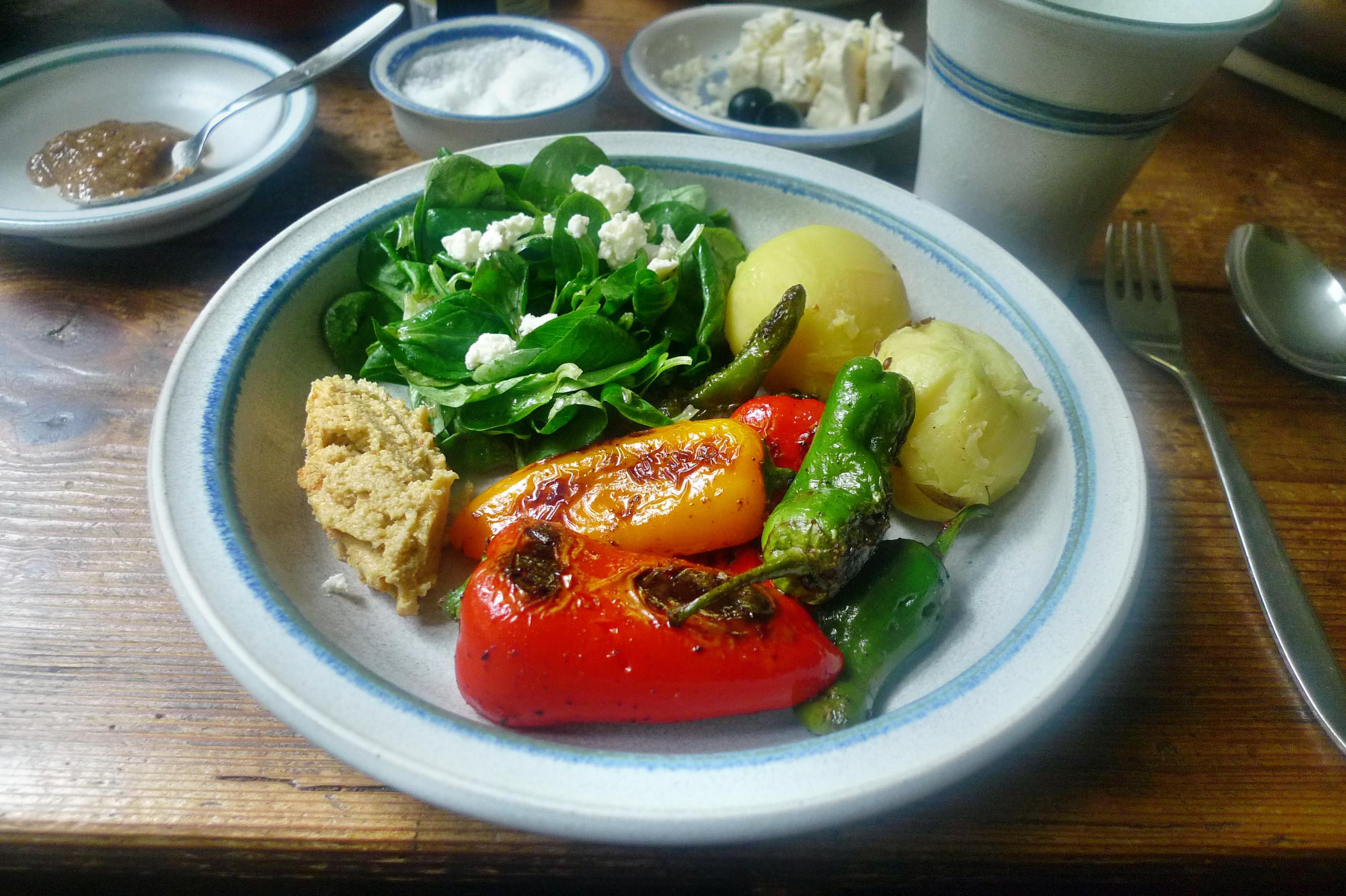 Pimentos-Paprika-Kartoffel-Salat-Buttermilch- 28.9.14   (12)