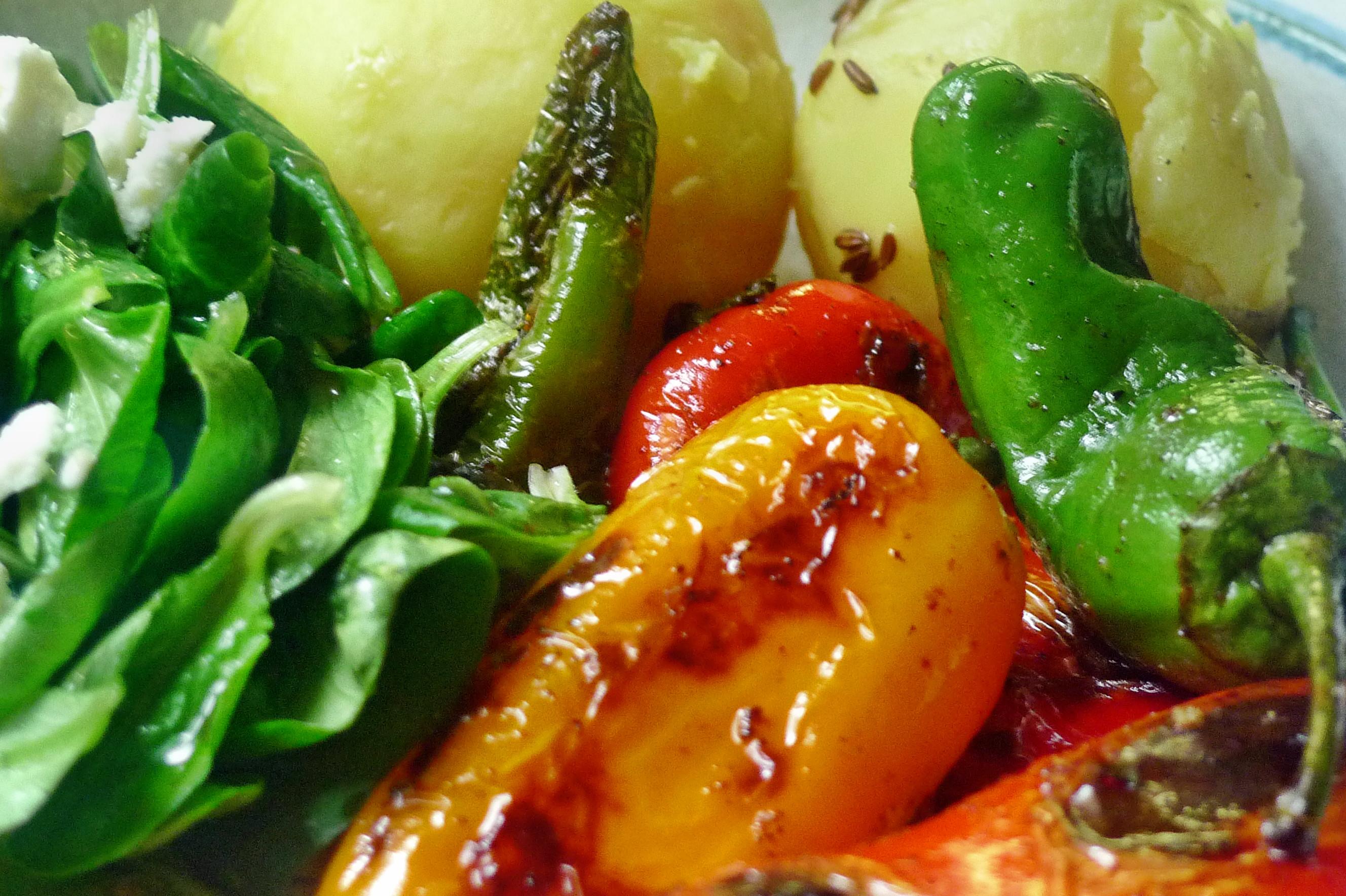 Pimentos-Paprika-Kartoffel-Salat-Buttermilch- 28.9.14   (14)