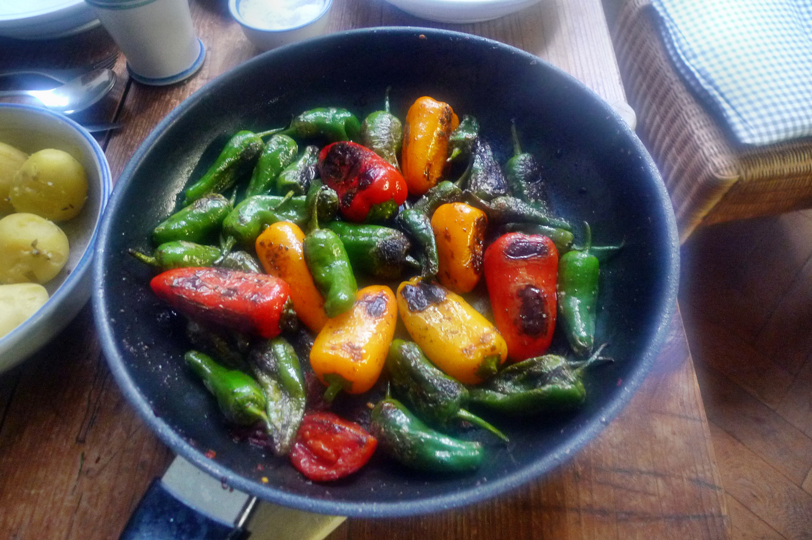 Pimentos-Paprika-Kartoffel-Salat-Buttermilch- 28.9.14   (8)