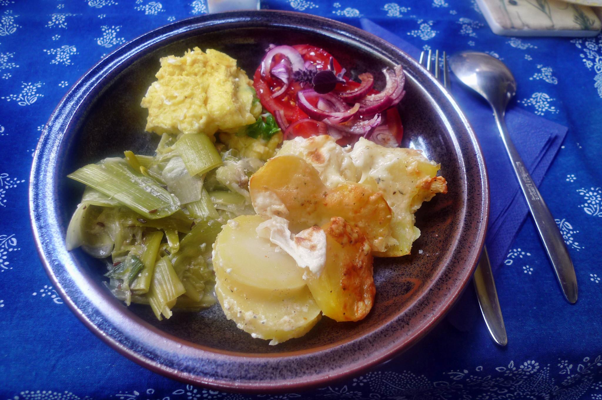 Porree-Kartoffelgratin-Ei-9.9.14   (20)
