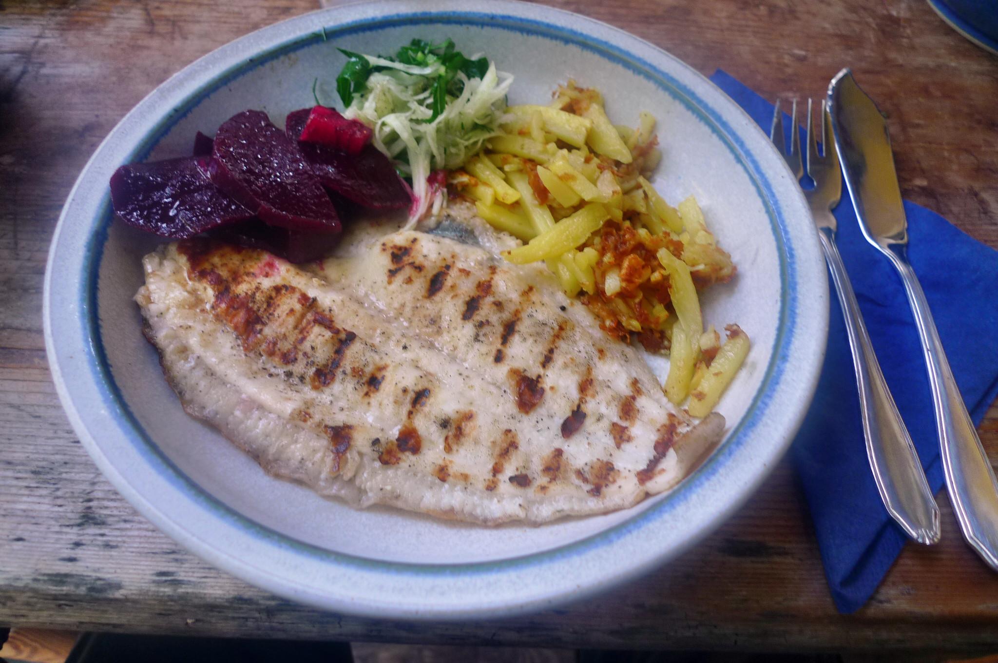 Scholle,Kartoffeln,Salate - 17.9.14   (15)