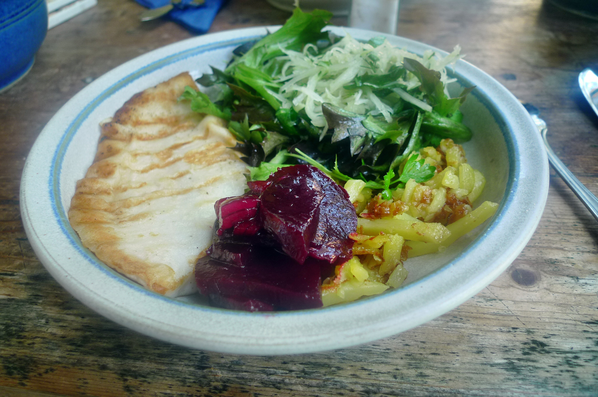 Scholle,Kartoffeln,Salate - 17.9.14   (16)