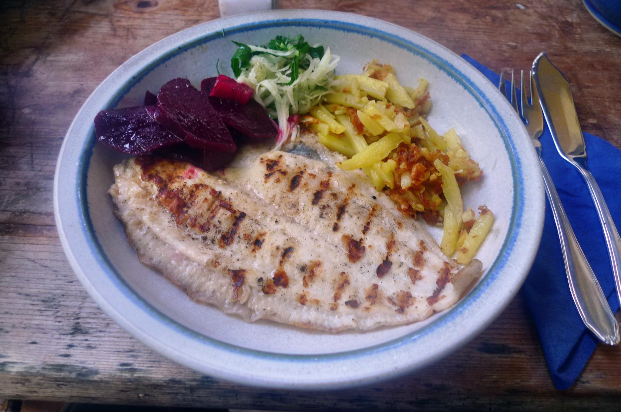 Scholle,Kartoffeln,Salate - 17.9.14   (17)