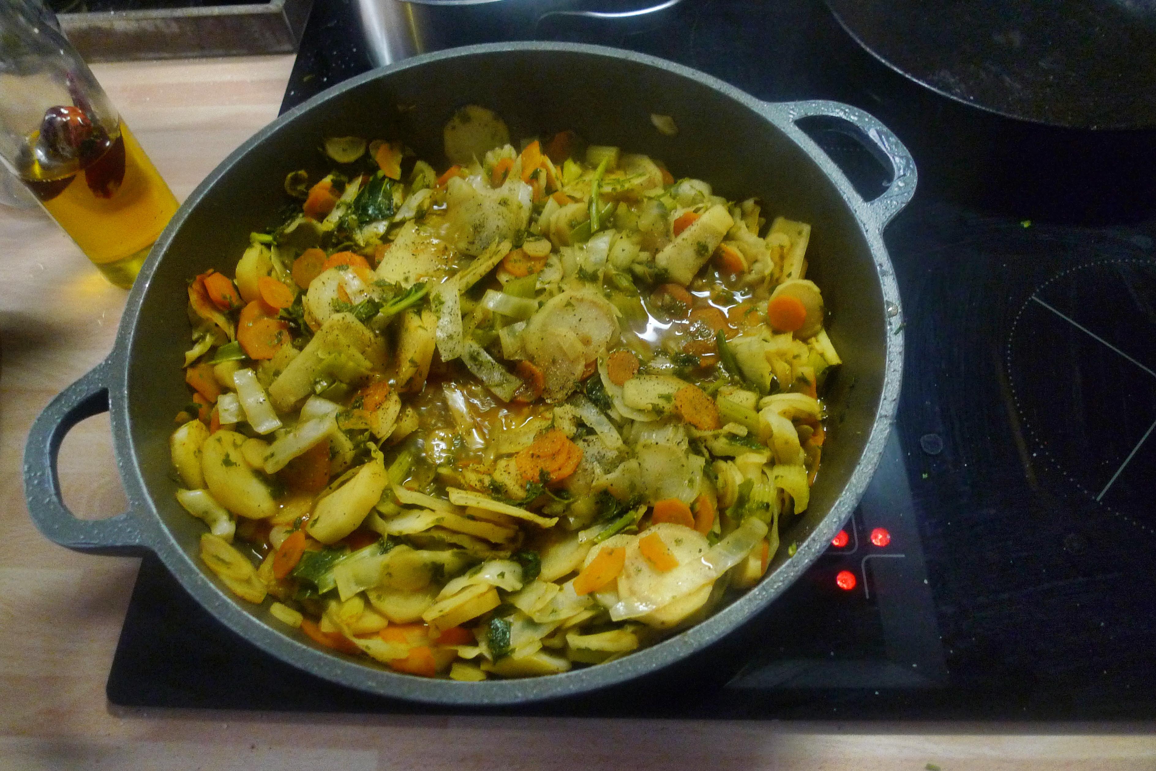 Gemüsepfanne-Reis-Champignon - 13.10.14   (10)