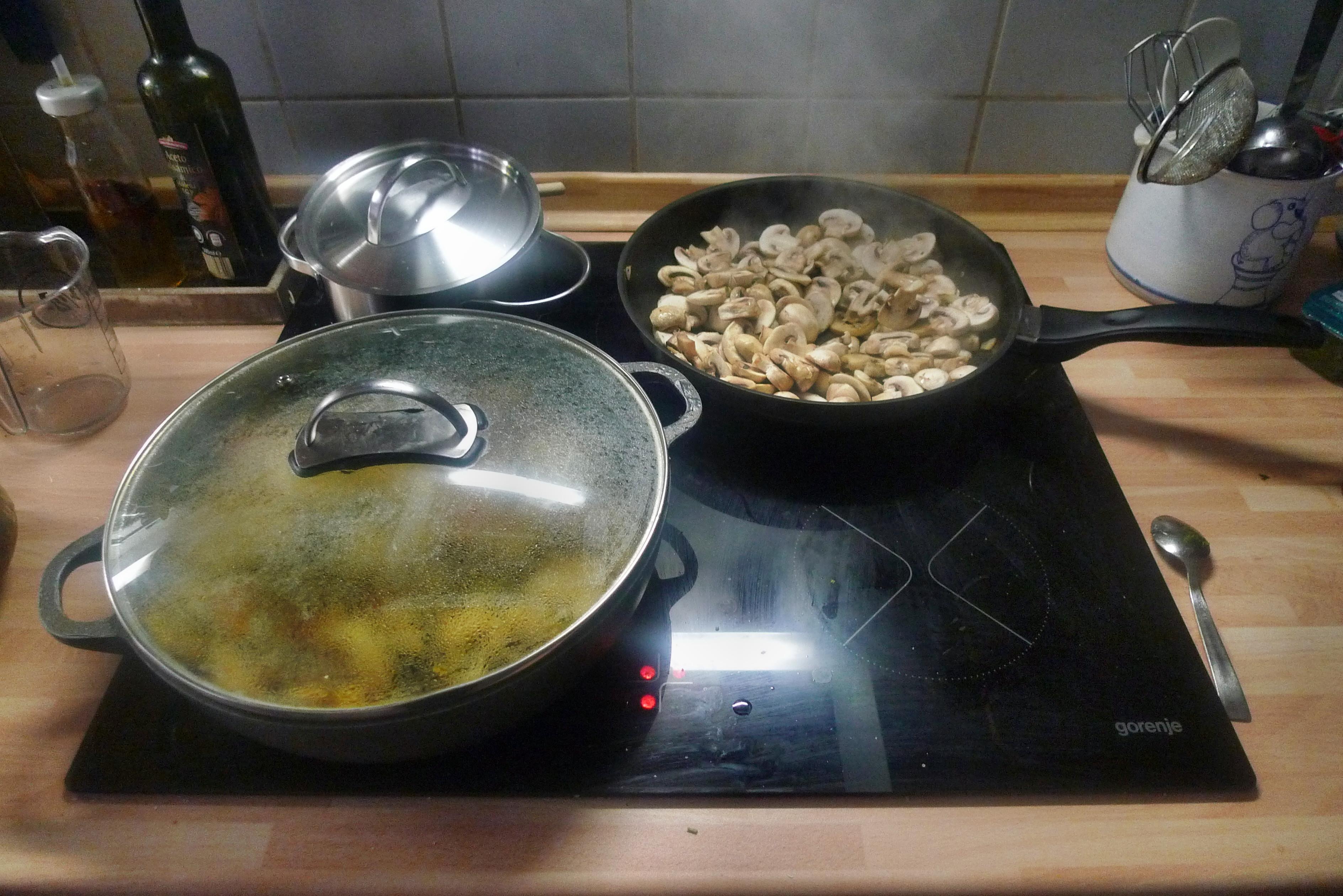 Gemüsepfanne-Reis-Champignon - 13.10.14   (12)