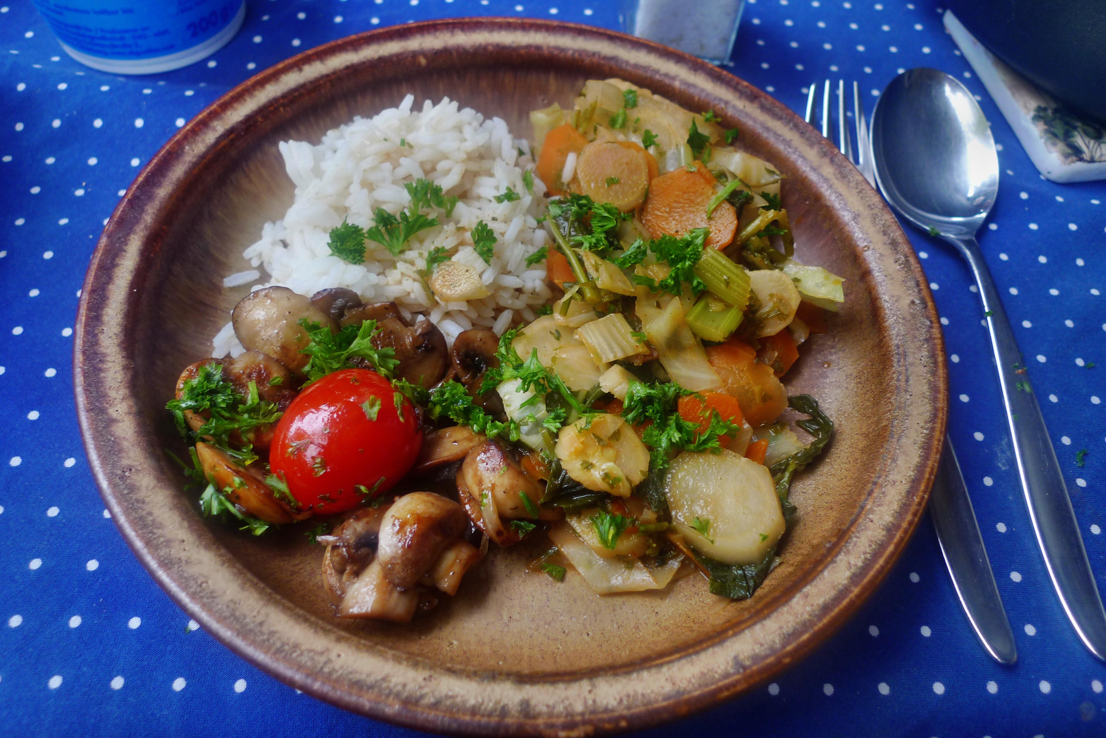 Gemüsepfanne-Reis-Champignon - 13.10.14   (18)
