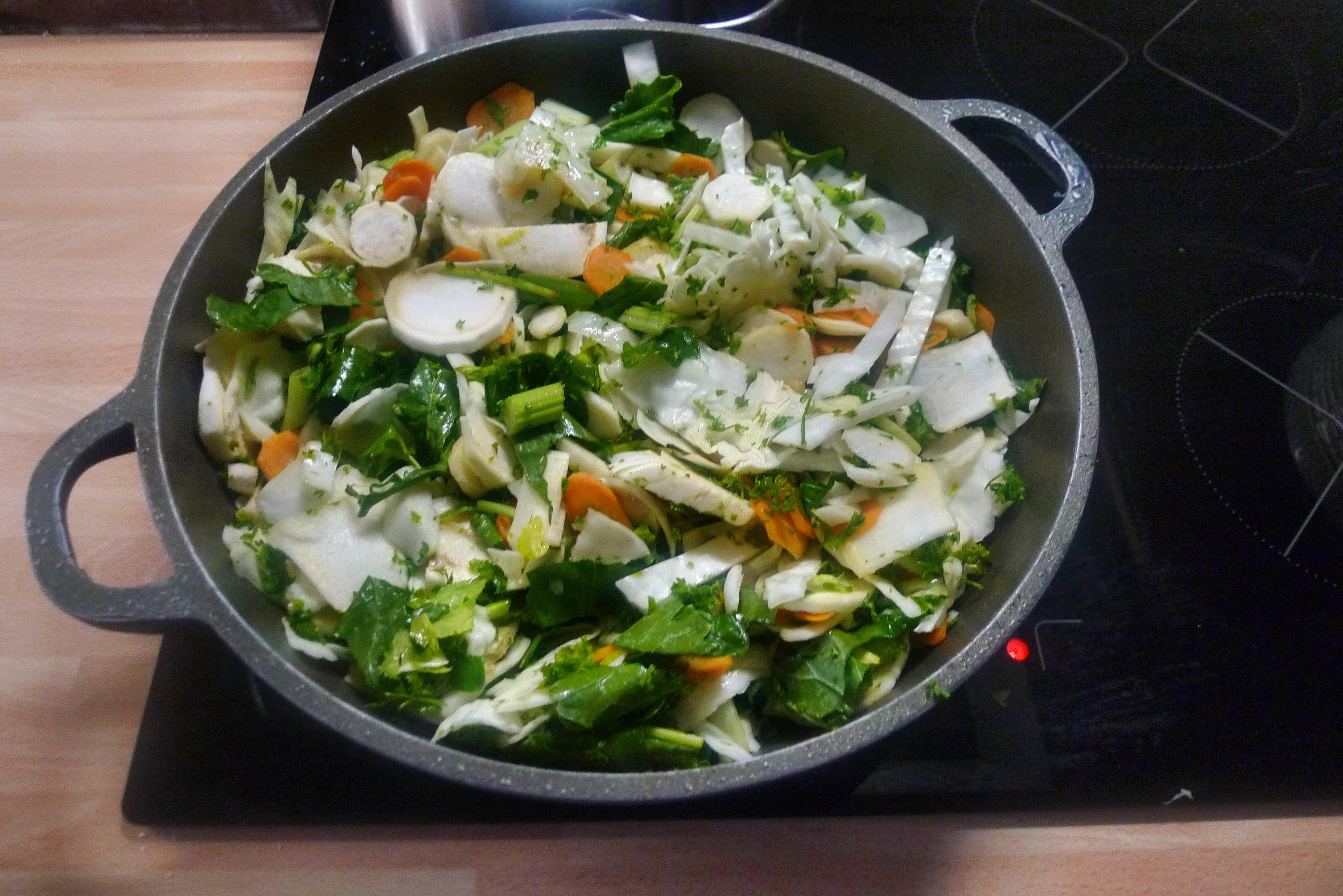 Gemüsepfanne-Reis-Champignon - 13.10.14   (8)