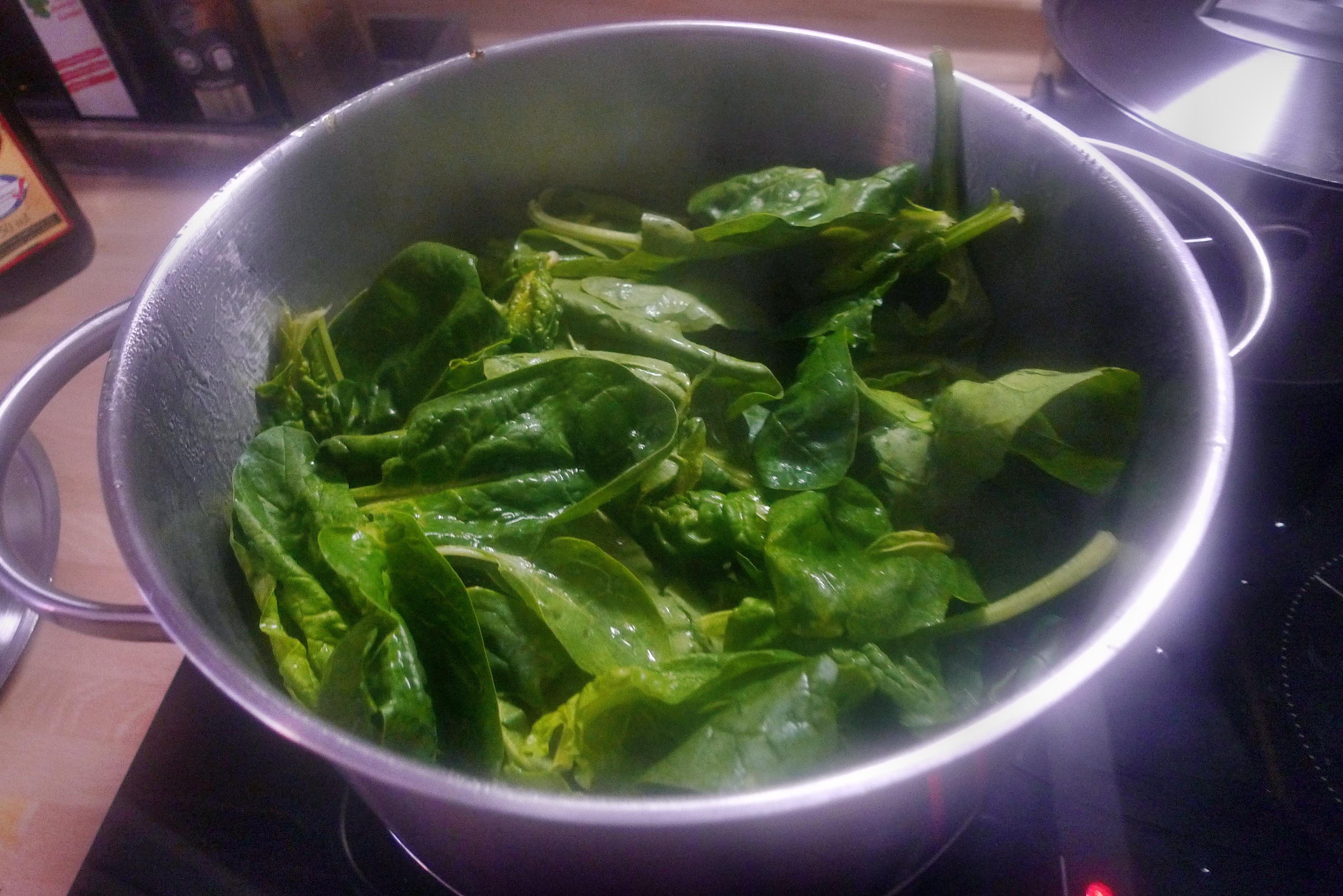 Spinat mit Nudeln-Apfel im Schlafrock -25.10.14   (2a) (5)