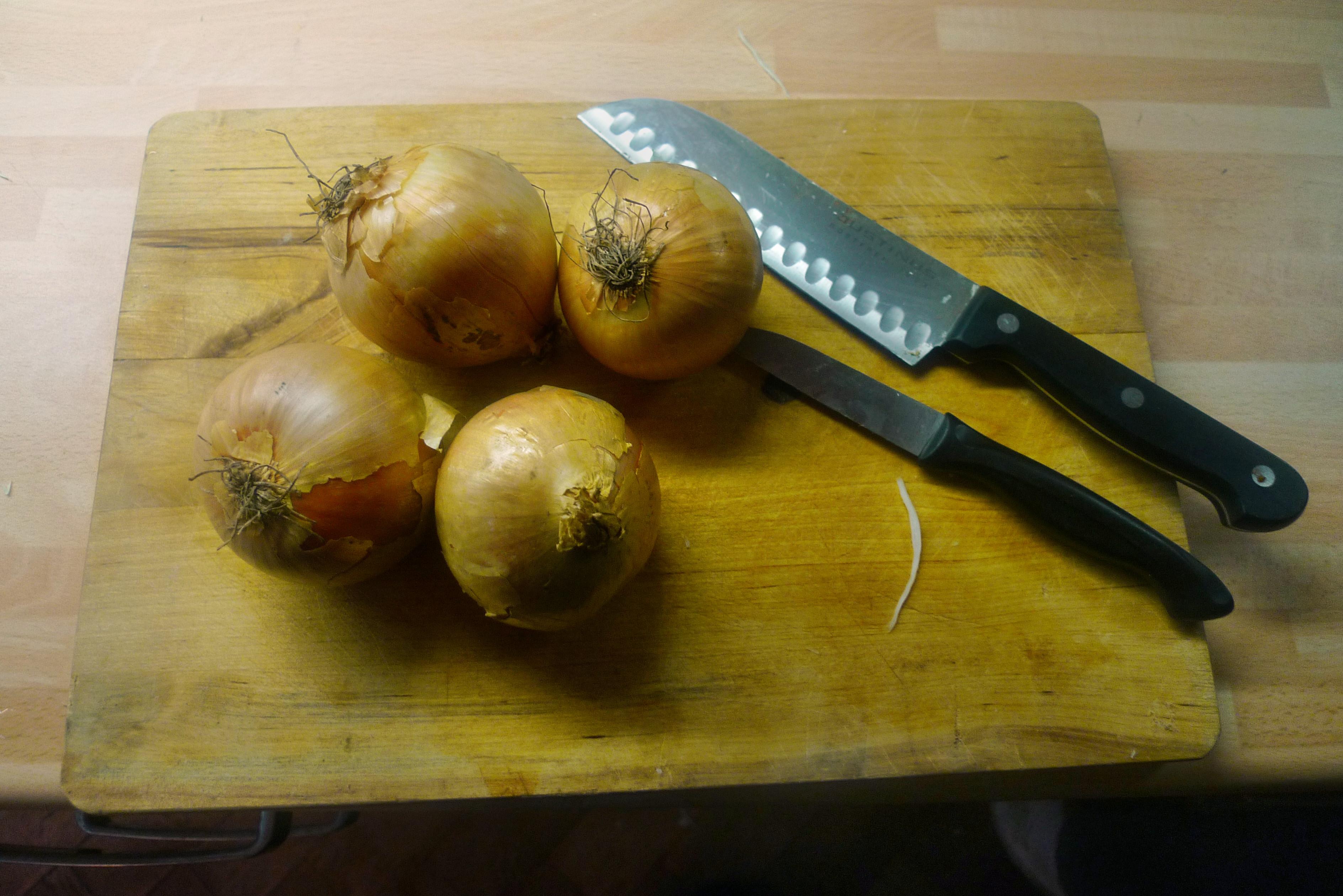 Zwiebelsoße,Kartoffelbrei,Krautsalat,Birnenkompott - 11.10.14   (3)