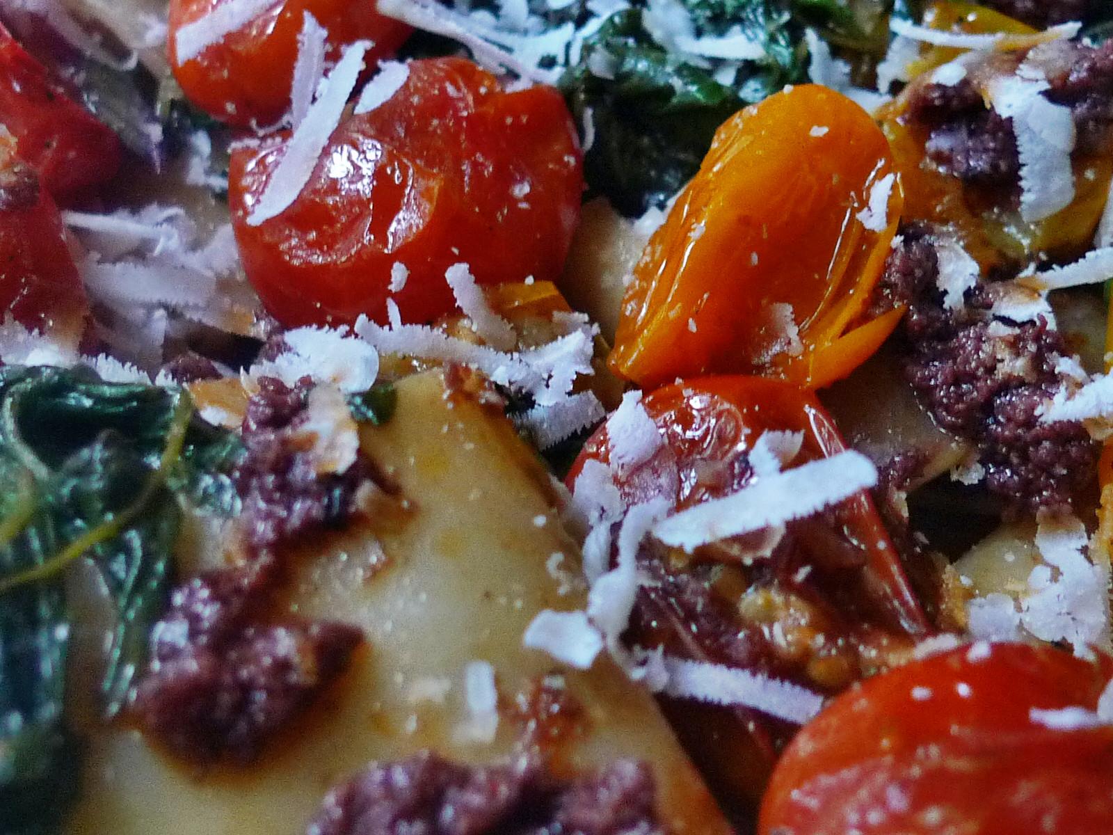 Nudeln mit Olivenpesto und Minigemüse - 21.11.14  (16)
