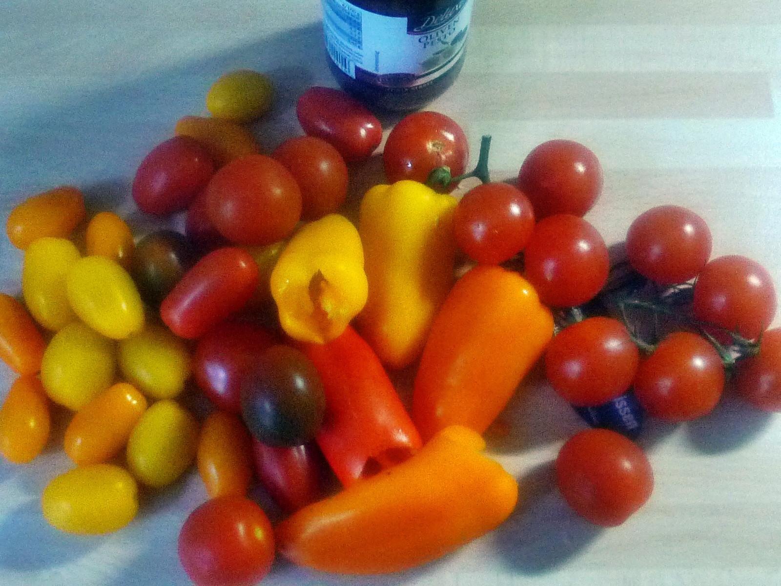 Nudeln mit Olivenpesto und Minigemüse - 21.11.14  (2)