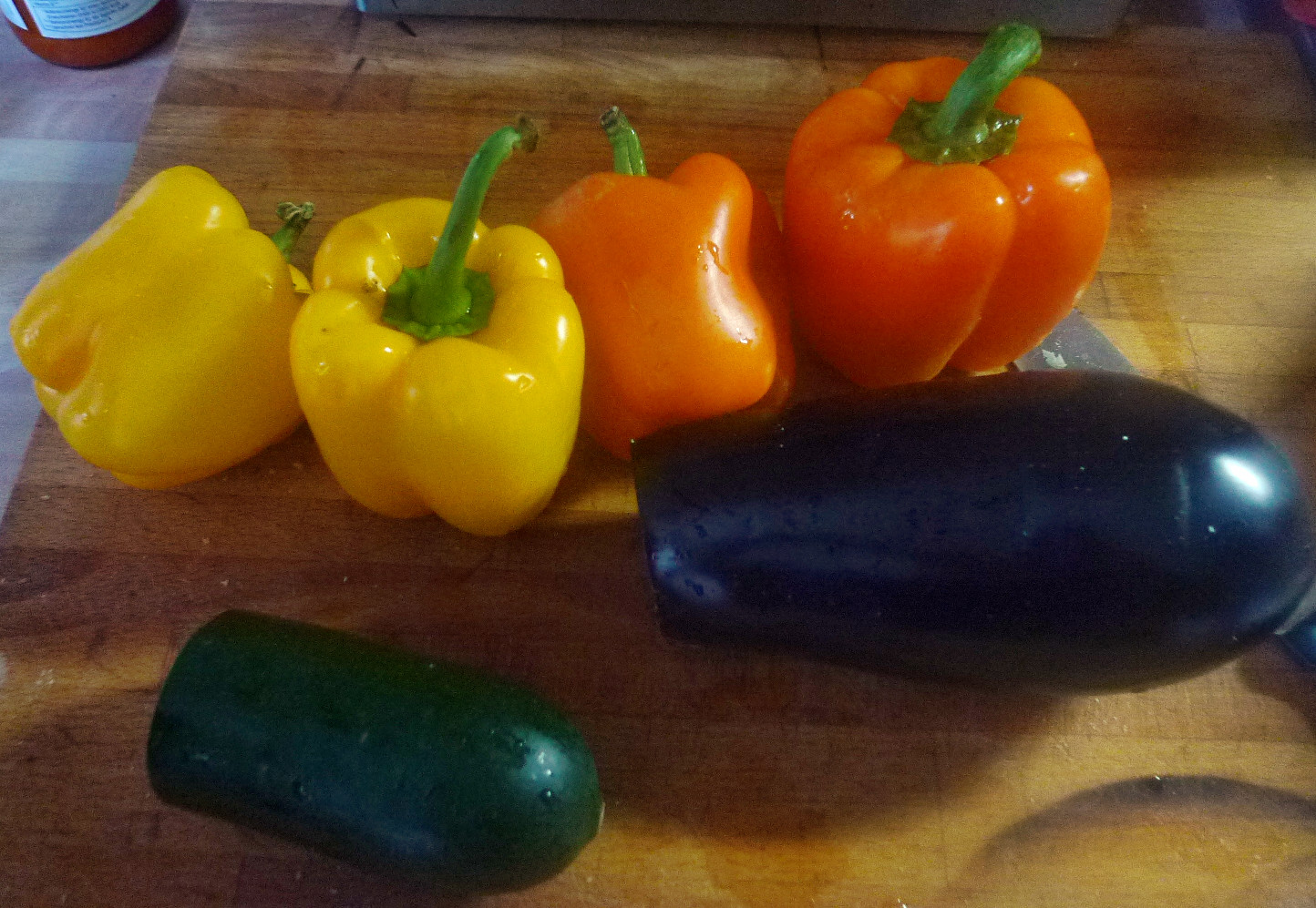 Ratatouille mit selbstgemachte Nudeln - 10.11.14   (8a)