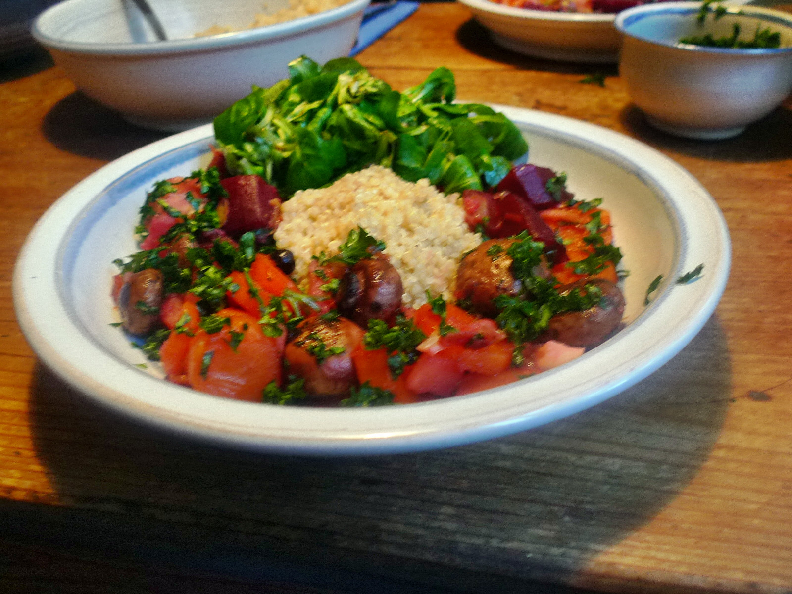 Wurzelgemüse-Quinoa-Feldsalat - 22.11.14   (14)