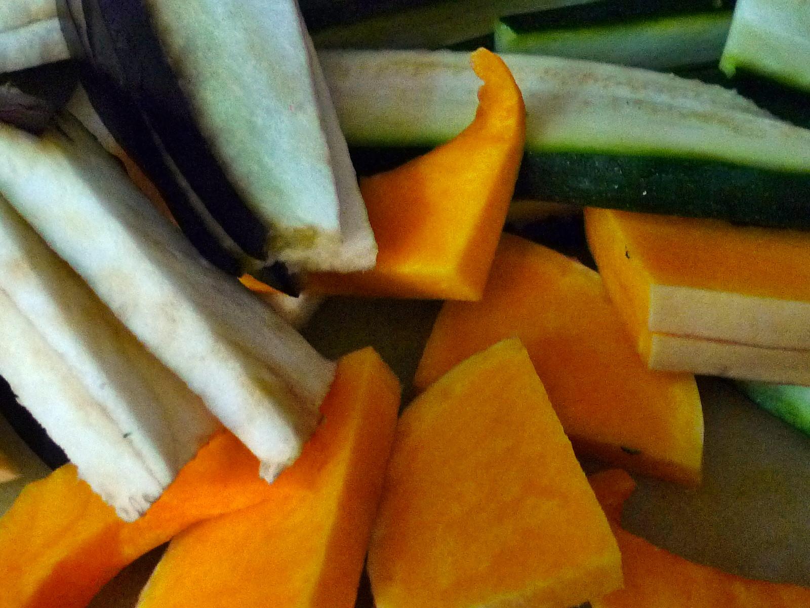 Nudeln mit Bärlauchpesto,Gemüse-4.12.14   (2)