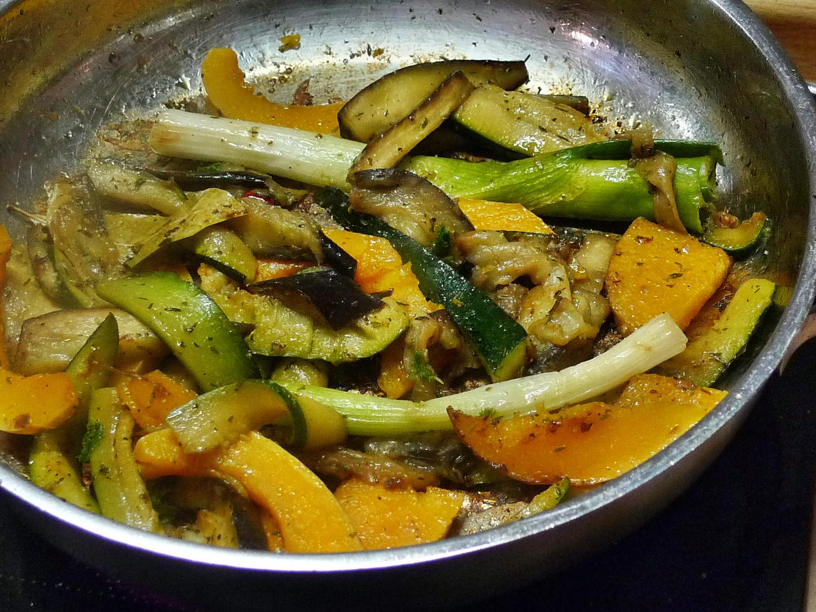 Nudeln mit Bärlauchpesto,Gemüse-4.12.14   (5)