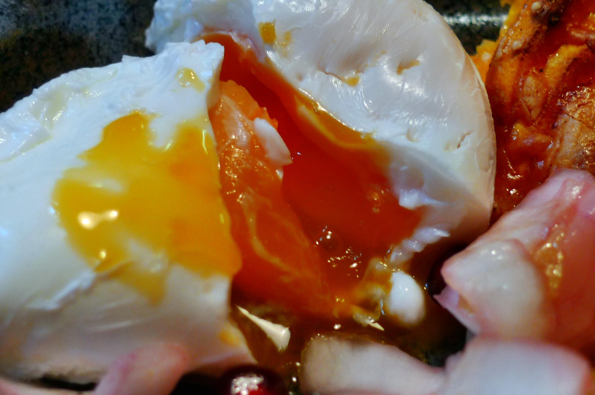 Süßkartoffelgratin,Chicoreesalat,pochierte Eier - 17.12.14   (26)