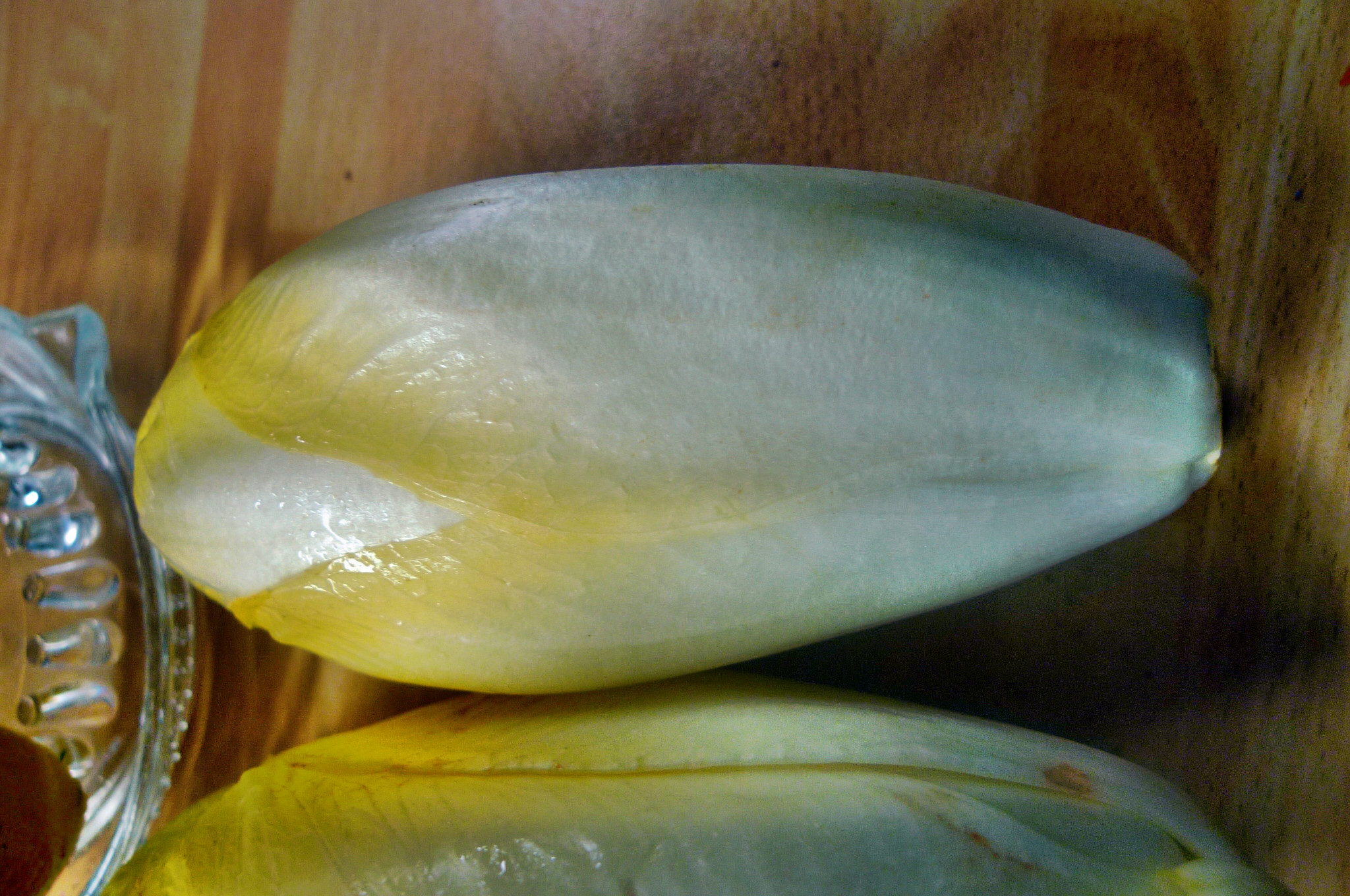 Süßkartoffelgratin,Chicoreesalat,pochierte Eier - 17.12.14   (7)