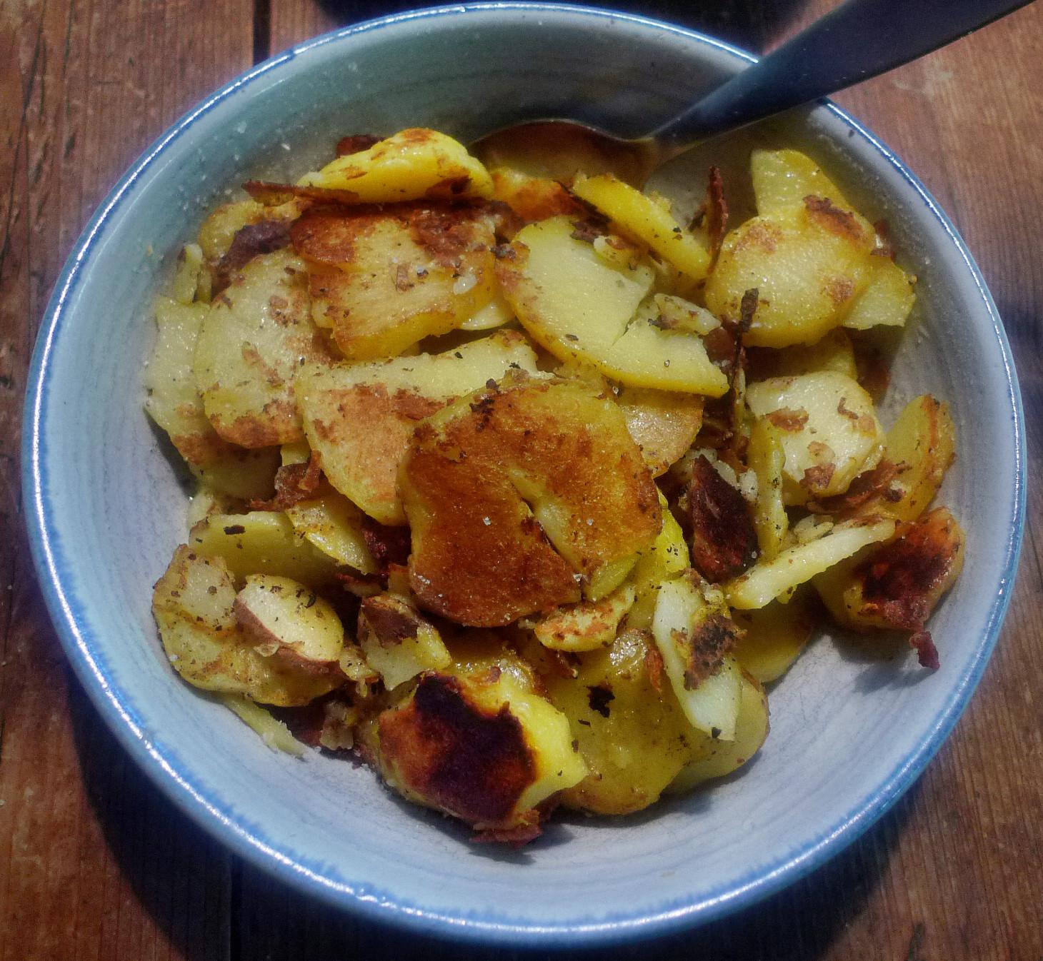 Guacamole,Fenchelsalat,Salat,Bratkartoffel--22.1.15   (10)