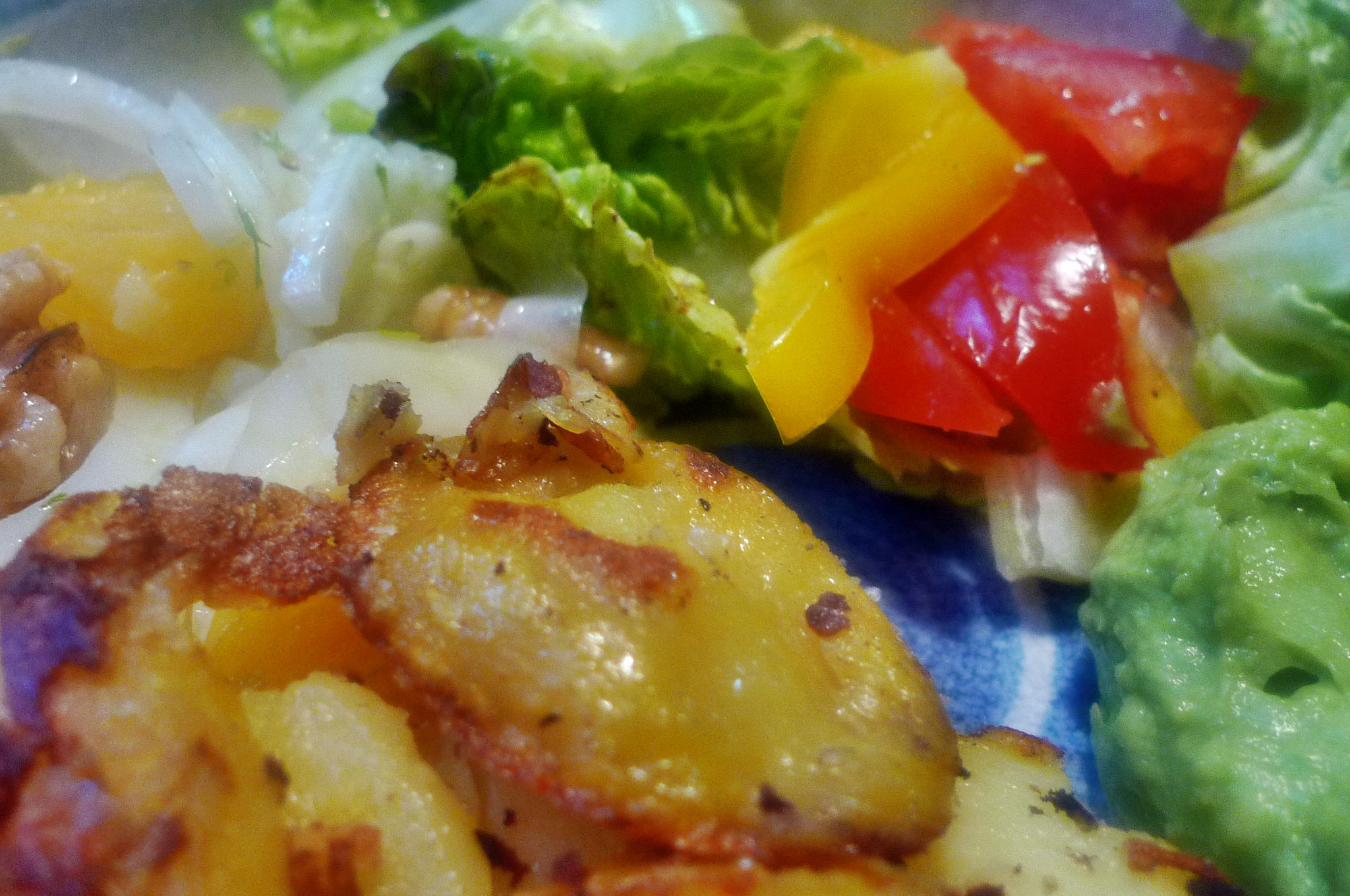 Guacamole,Fenchelsalat,Salat,Bratkartoffel--22.1.15   (14)