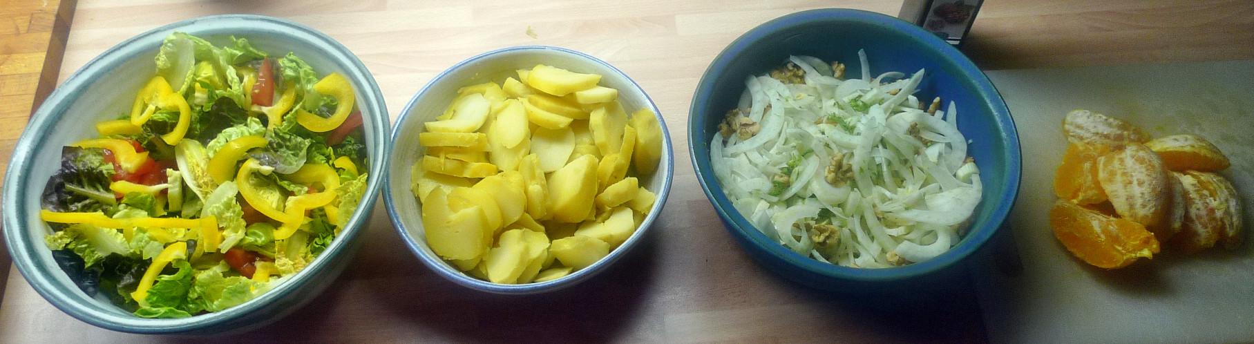 Guacamole,Fenchelsalat,Salat,Bratkartoffel--22.1.15   (4)