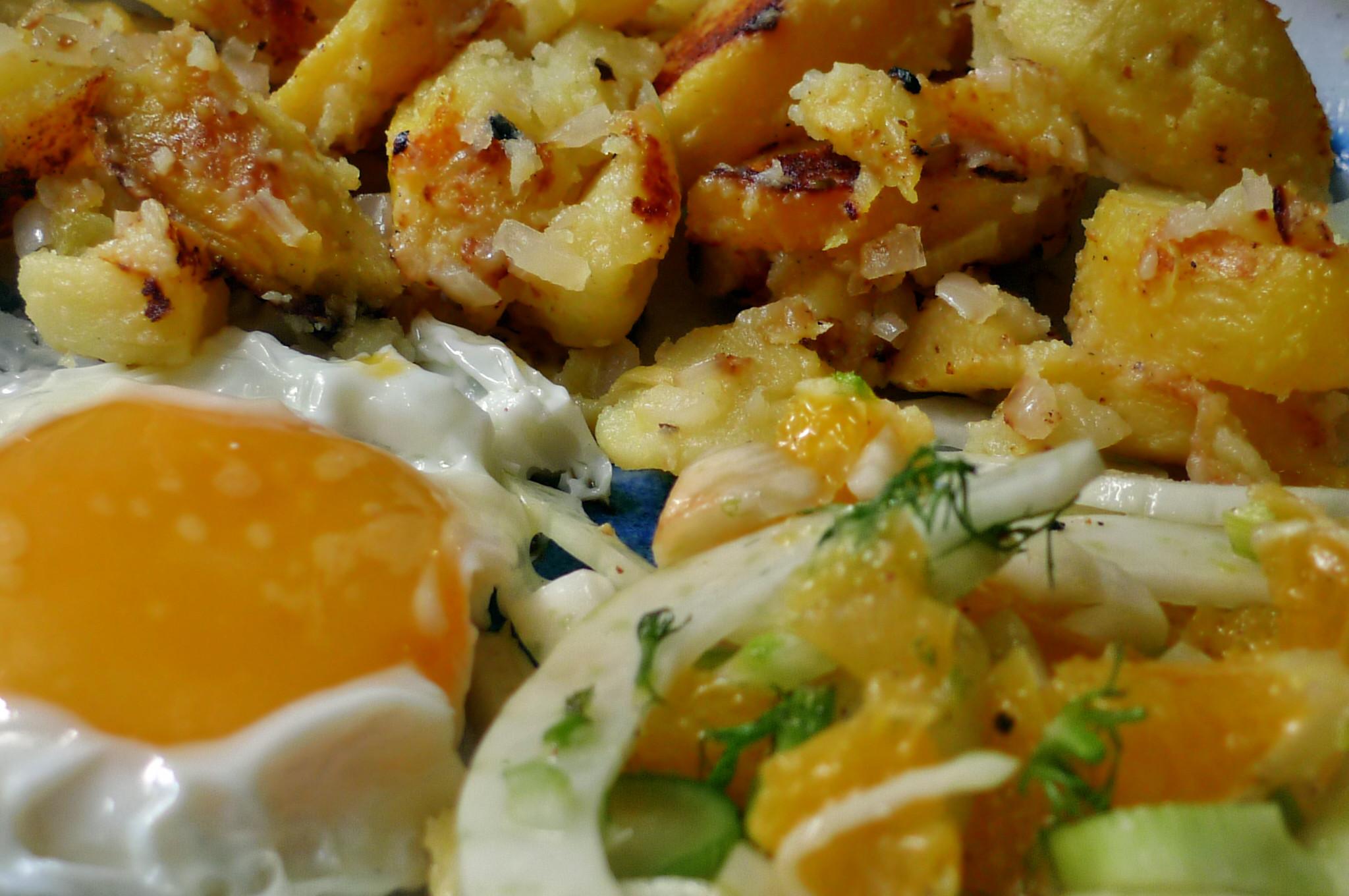 Bratkartoffel,Spiegelei,Fenchelsalat - 24.2.15   (10)