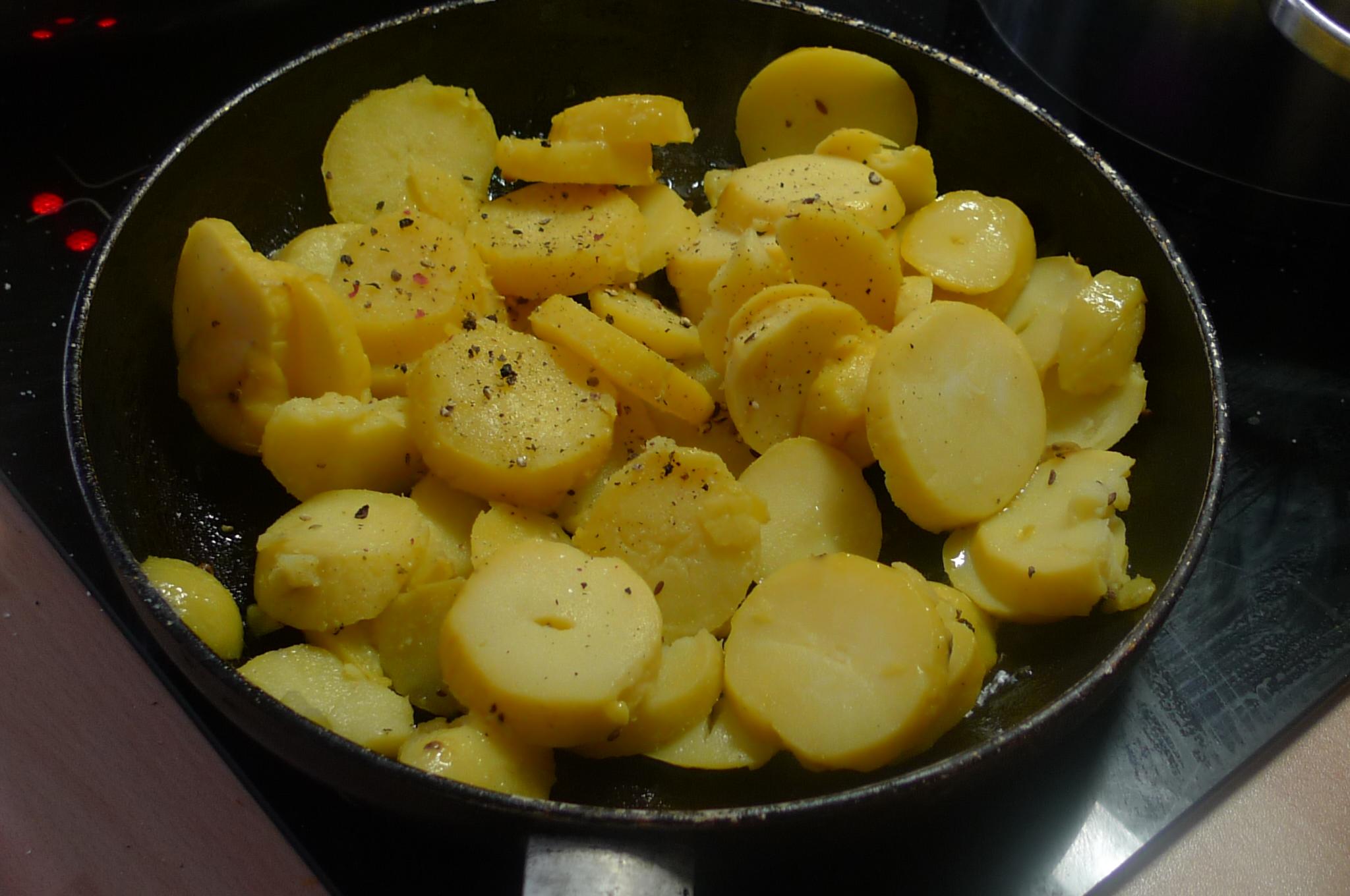 Bratkartoffel,Spiegelei,Fenchelsalat - 24.2.15   (4)
