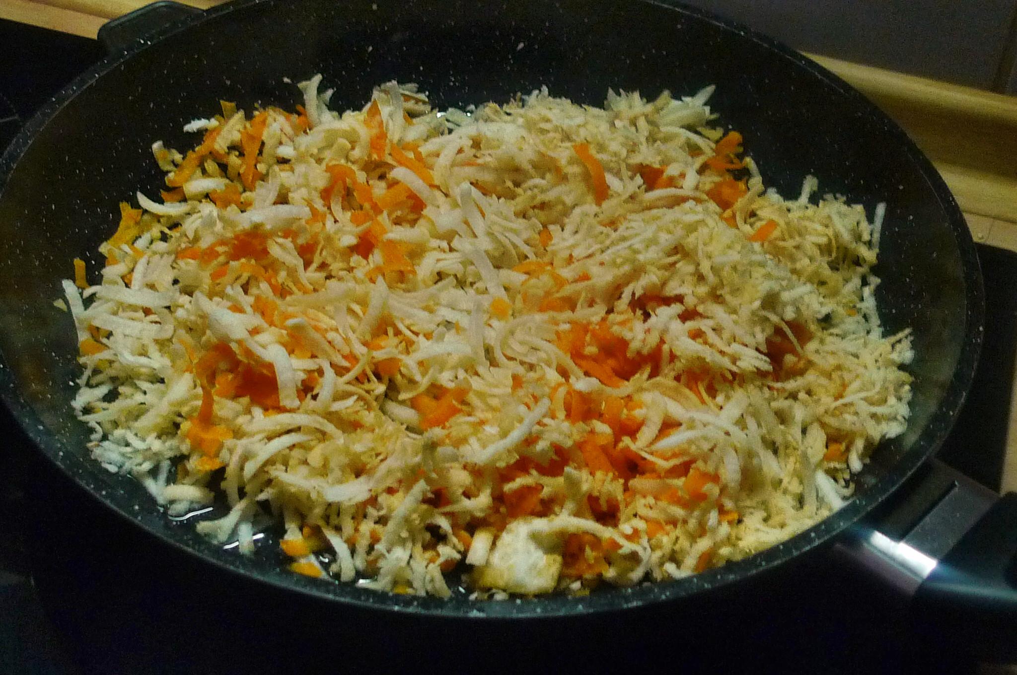 Buchweizenpfannkuchen mit Gemüsefüllung - 1.2.15   (7)