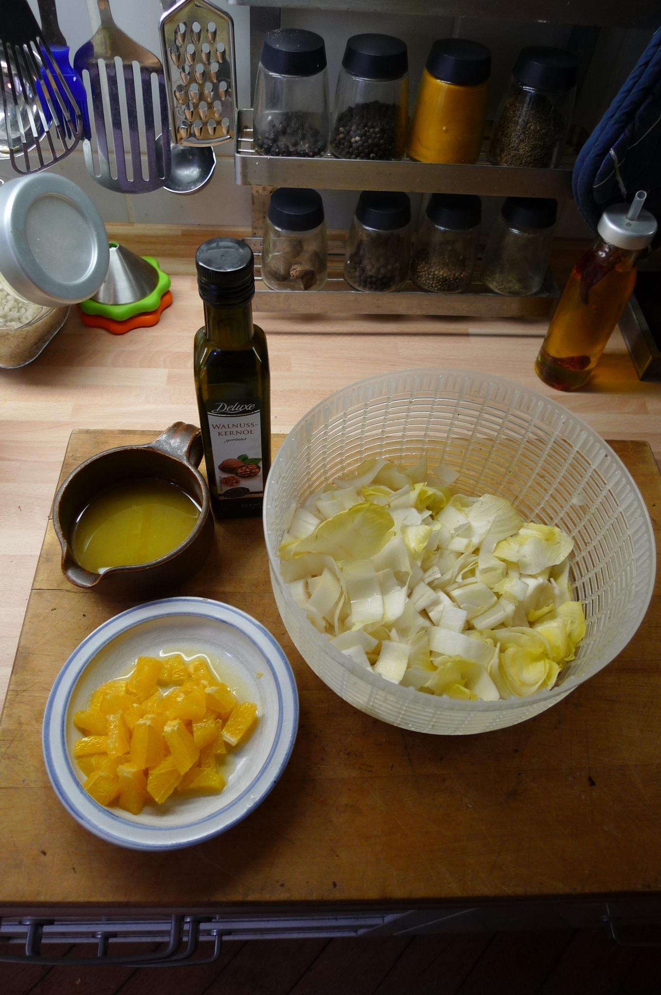 Kabeljau,Chicoreesalat,Kartoffeln,Quarkspeise - 17.2.15   (5)
