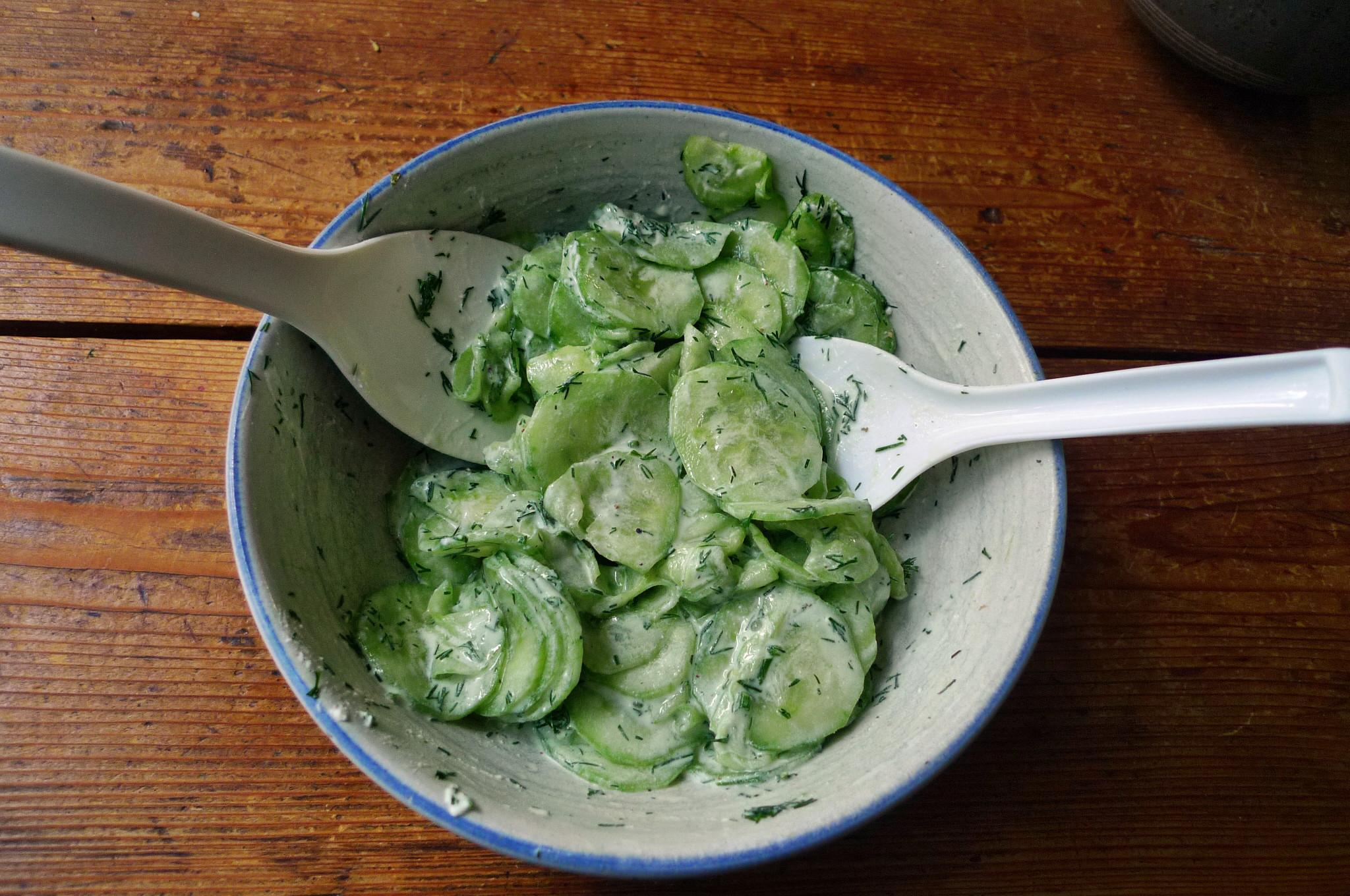 Klöße,Pilzsauce,Salate-8.2.15   (10)