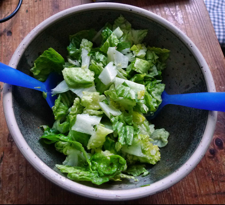Klöße,Pilzsauce,Salate-8.2.15   (9)
