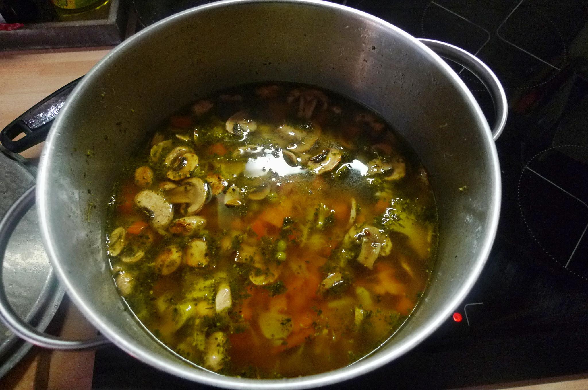 Gemüsesuppe mit Cräcker-6.3.15   (10)