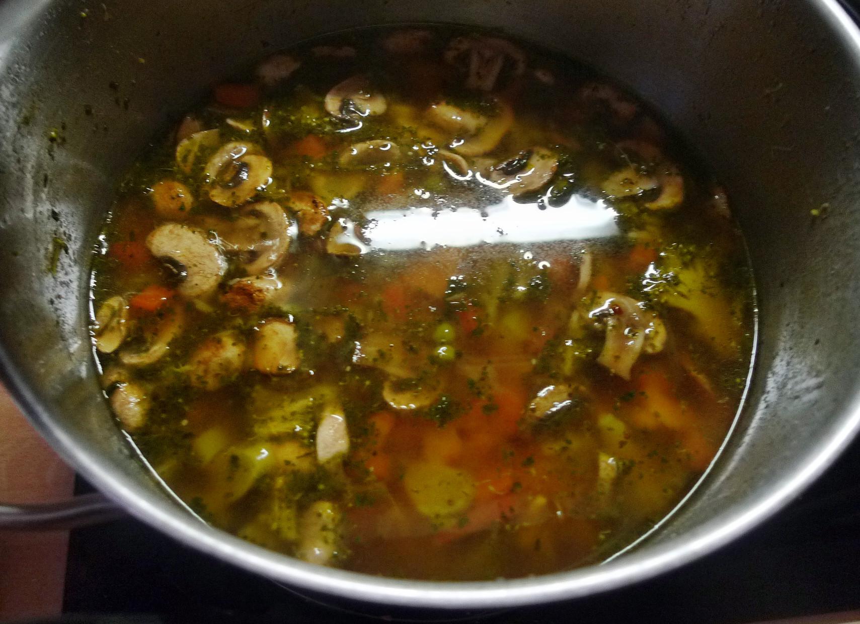 Gemüsesuppe mit Cräcker-6.3.15   (8)