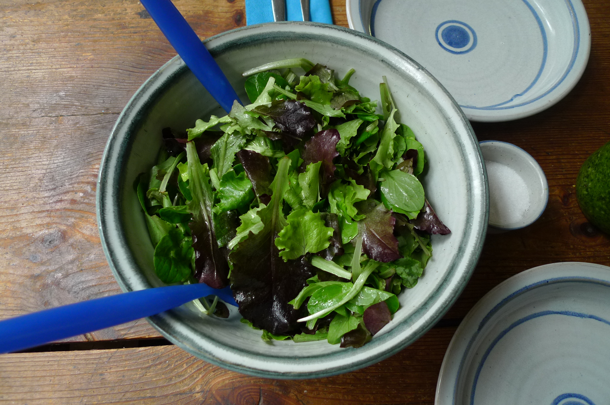 Grüne Nudeln,Ruccolapesto,Pilze,Bratpaprika,Salat-8.3.15   (6)