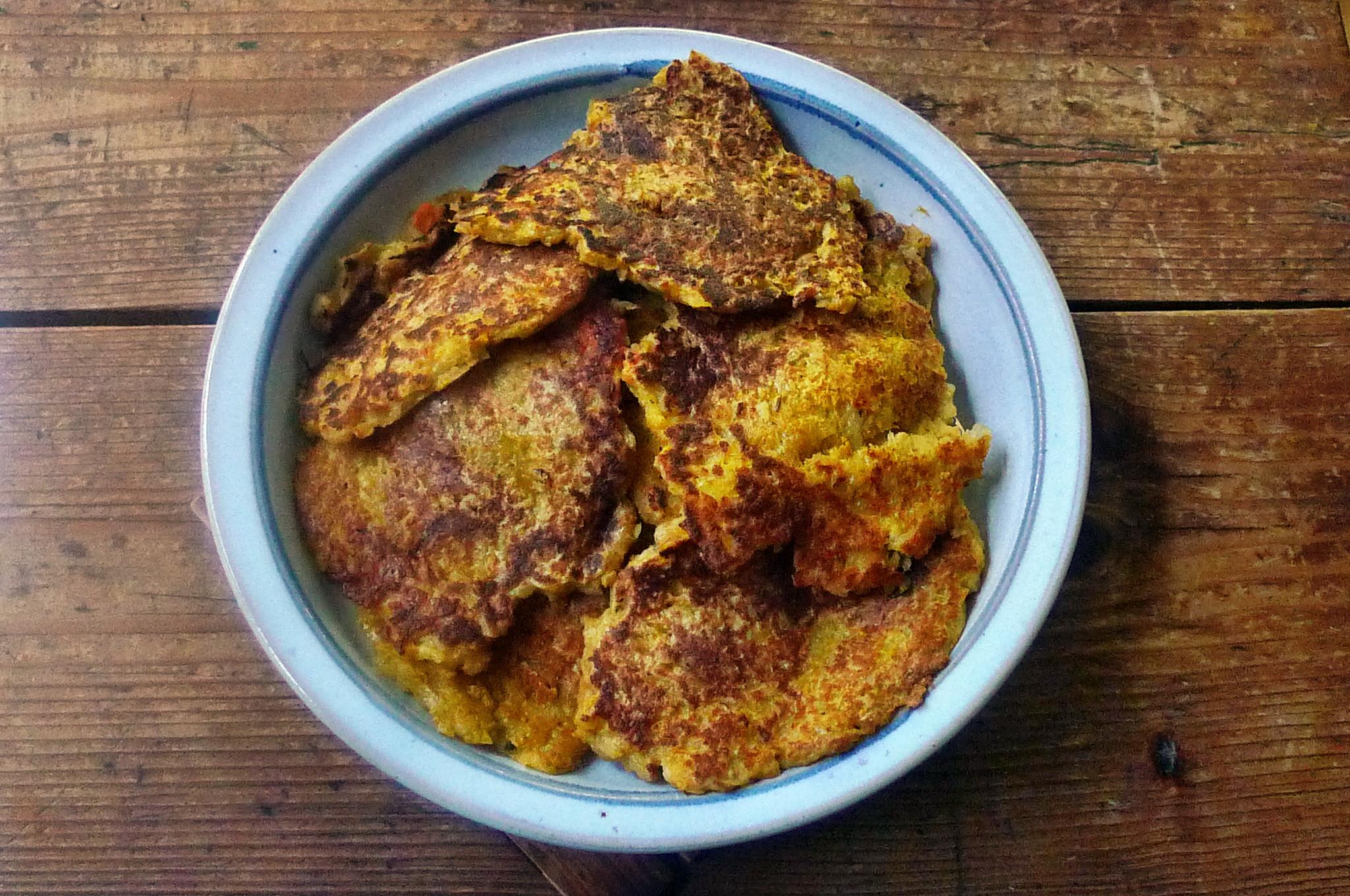Kartoffel-Möhrenpuffer,Brokkoli - 15.3.15   (6a)