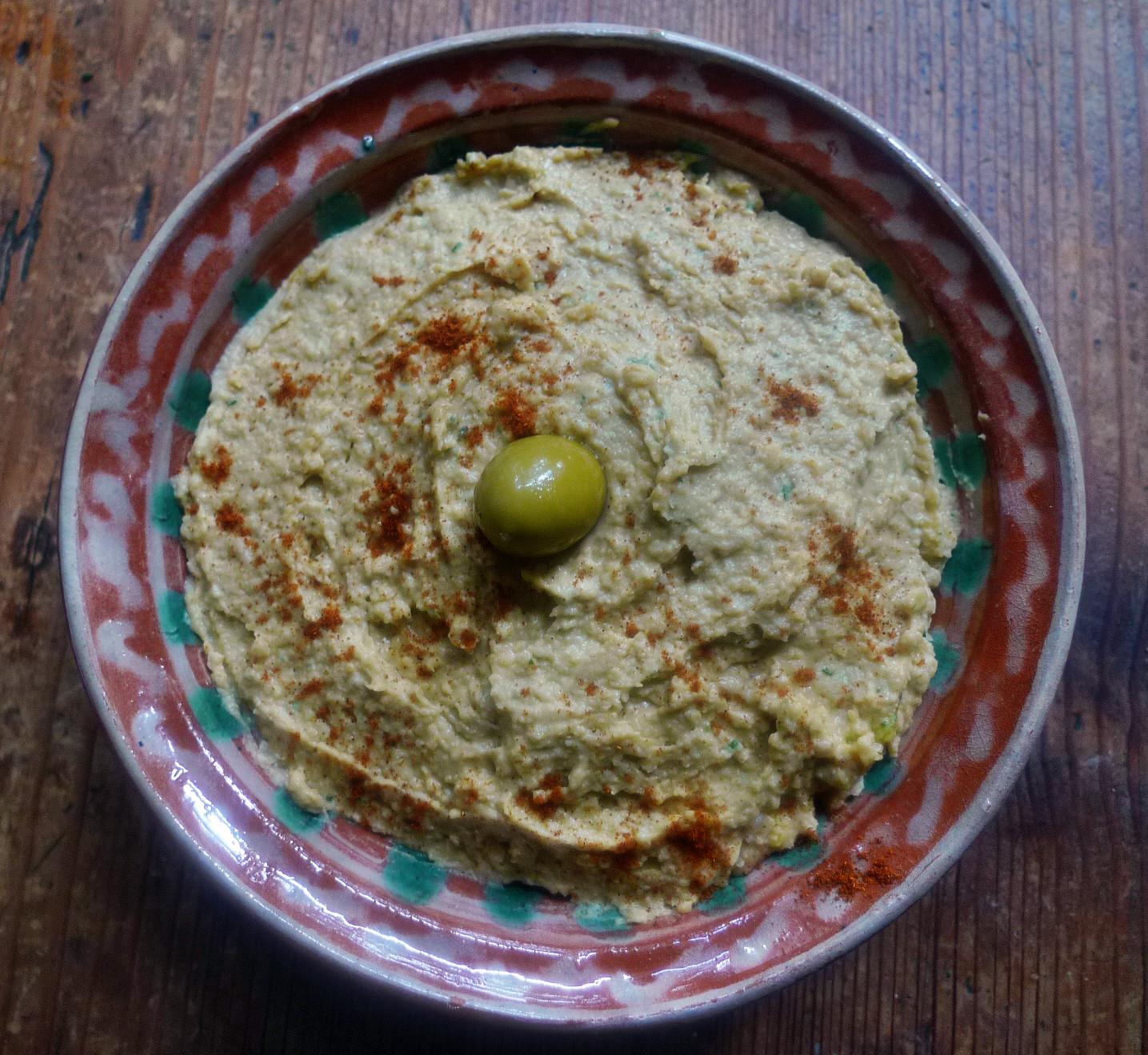 Bärlauchpesto und Hummus - ..15   (5)